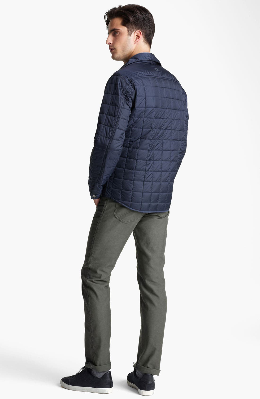Alternate Image 5  - Zegna Sport Reversible Quilted Jacket