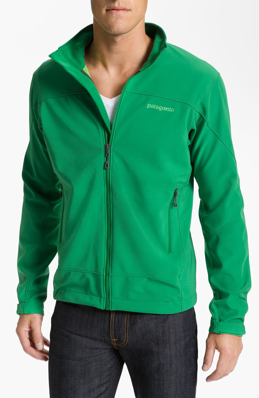 Alternate Image 1 Selected - Patagonia 'Adze' Zip Jacket