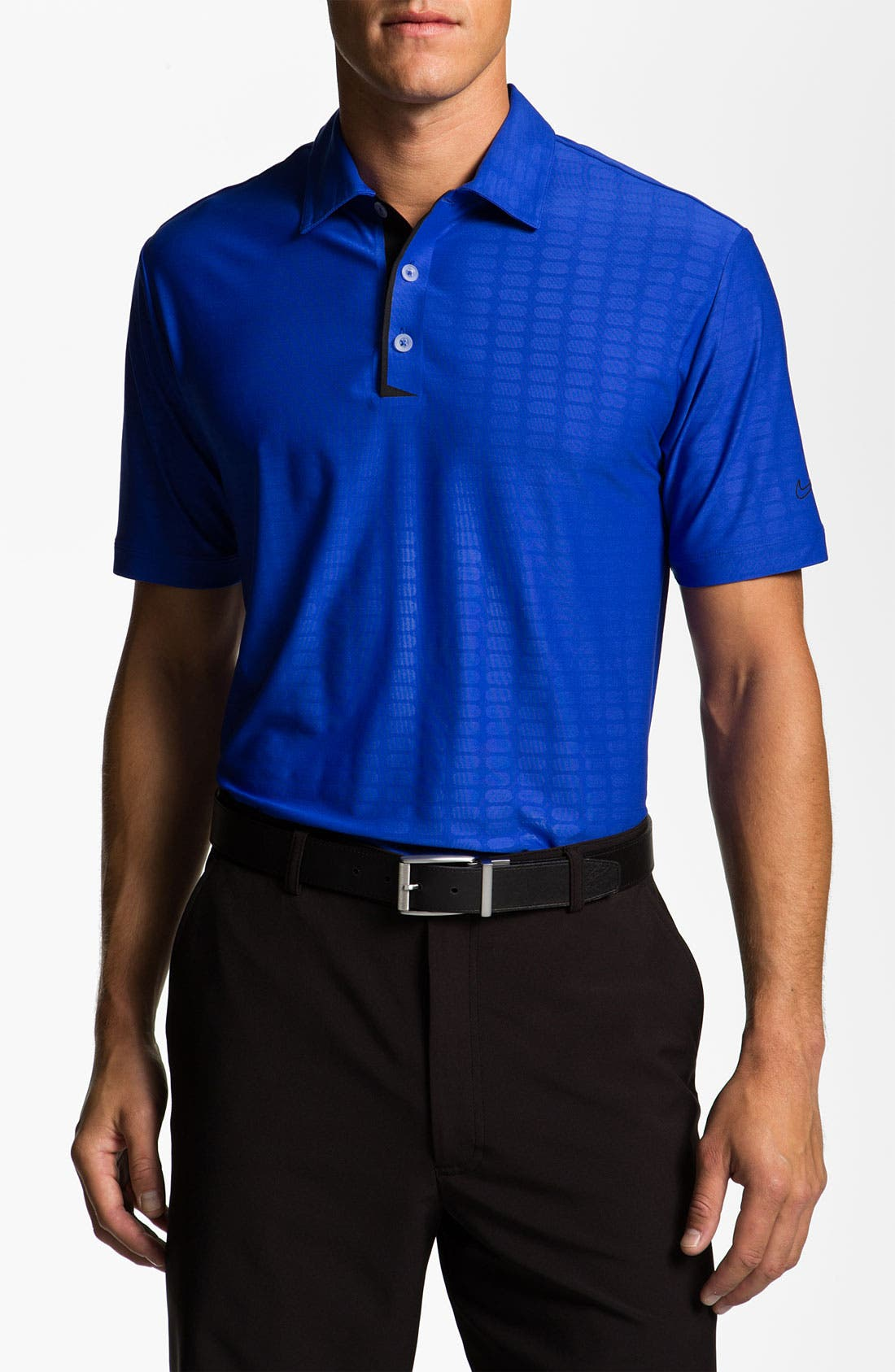 Main Image - Nike Golf Bonded Embossed Dri-FIT Polo