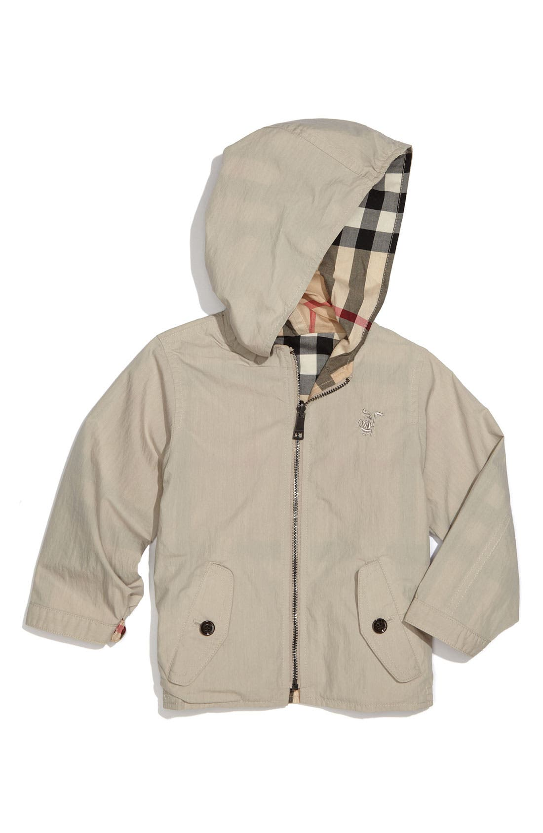 Main Image - Burberry Reversible Jacket (Toddler)
