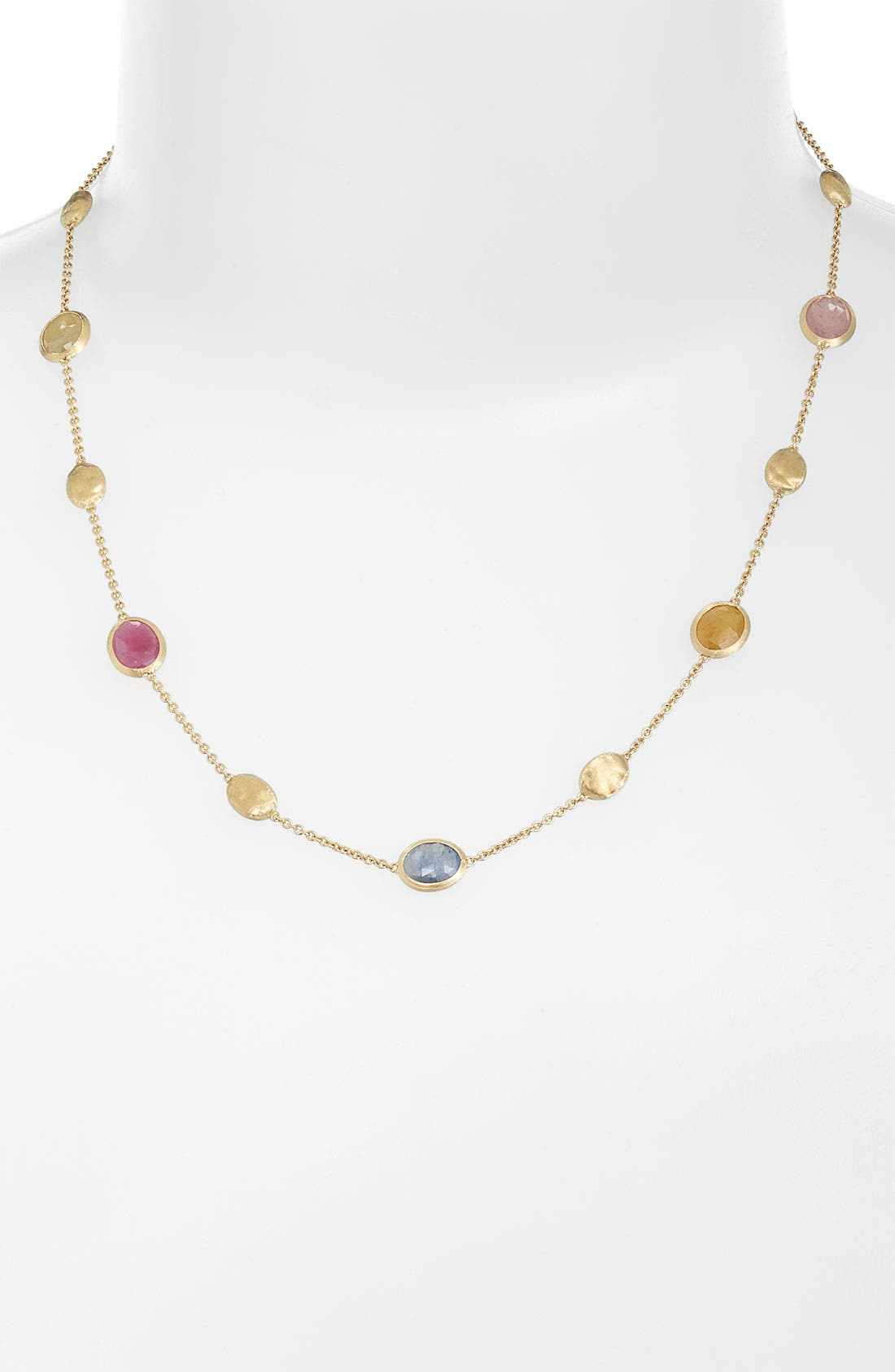 Main Image - Marco Bicego 'Sivilgia' Mixed Sapphire Necklace