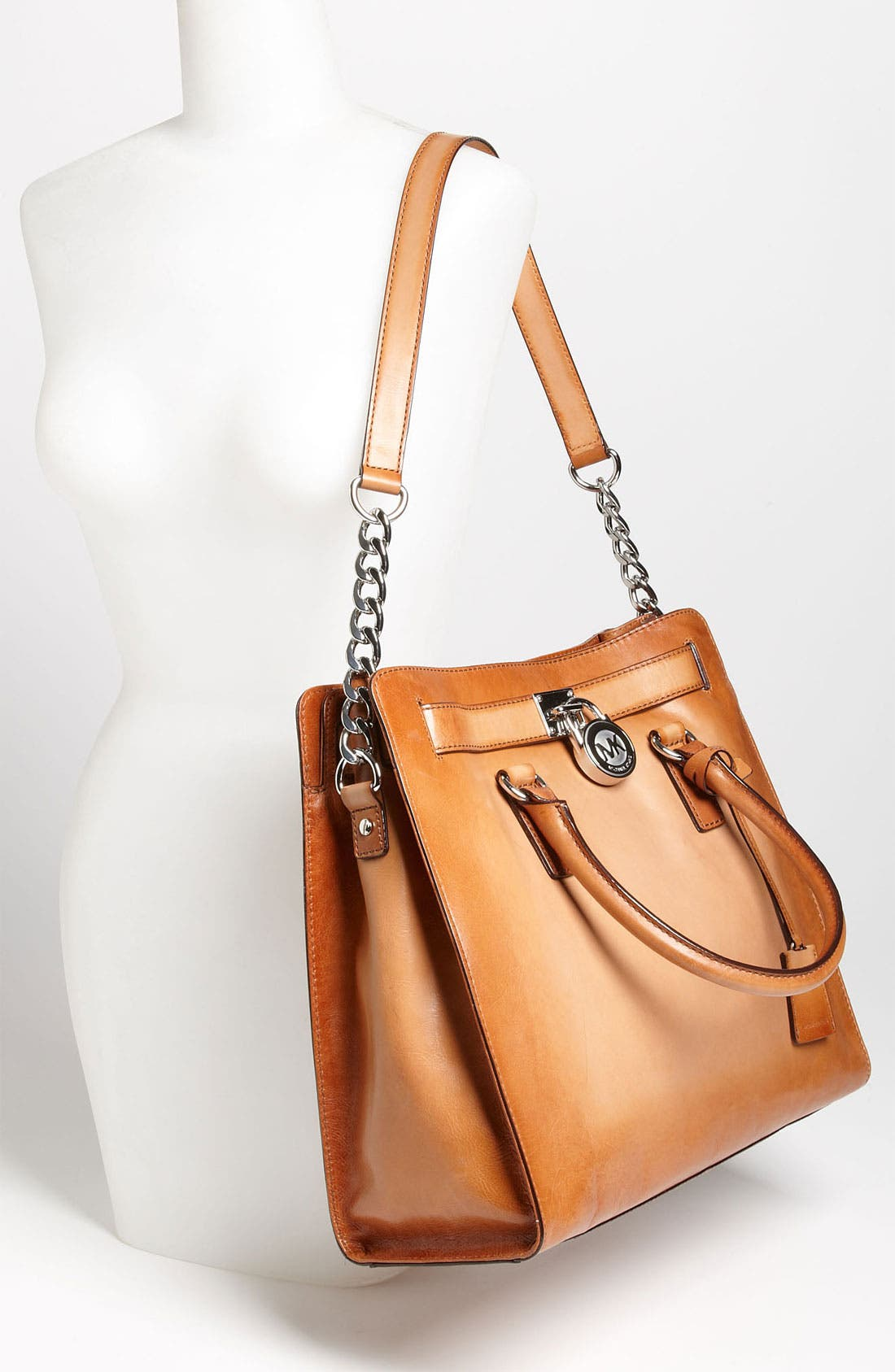 Alternate Image 2  - MICHAEL Michael Kors 'Hamilton Artisan - Large' Leather Tote