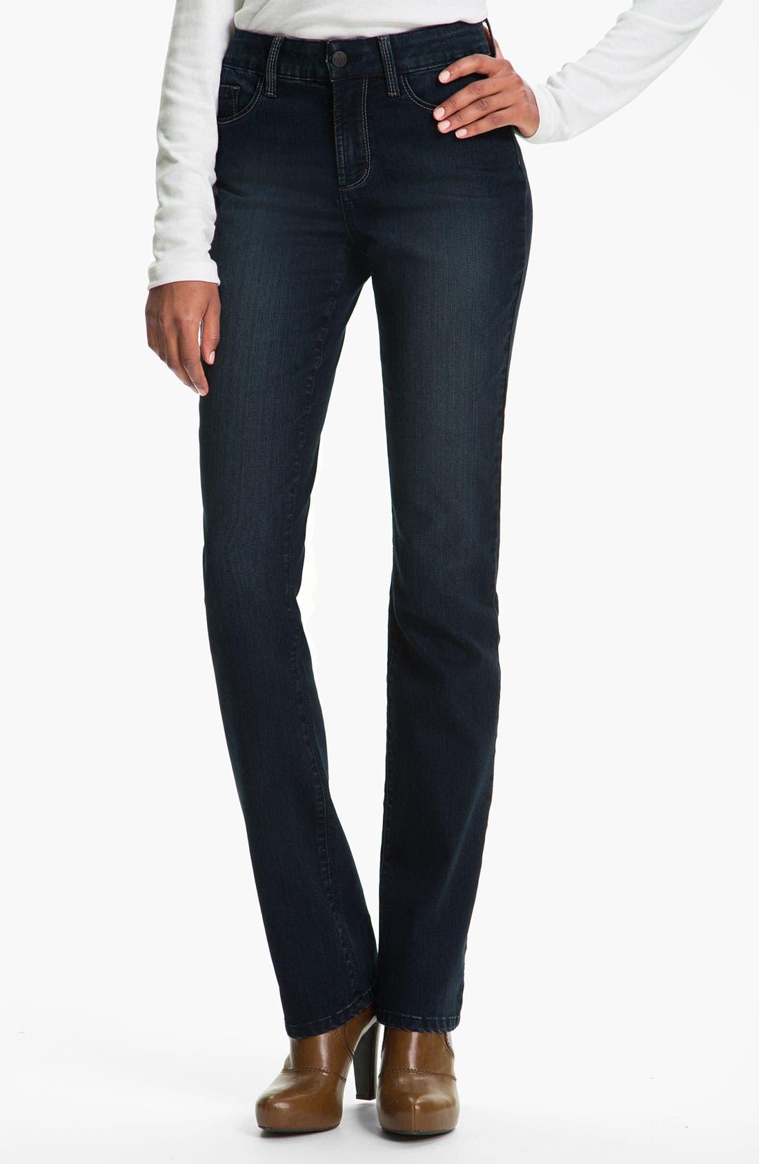 Alternate Image 1  - NYDJ 'Barbara' Bootcut Jeans (Long)