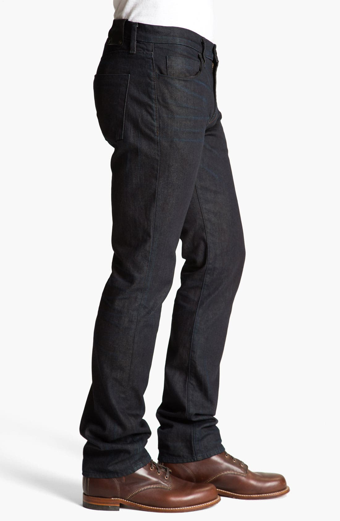 Alternate Image 3  - J Brand 'Kane' Slim Straight Leg Jeans (Legend)