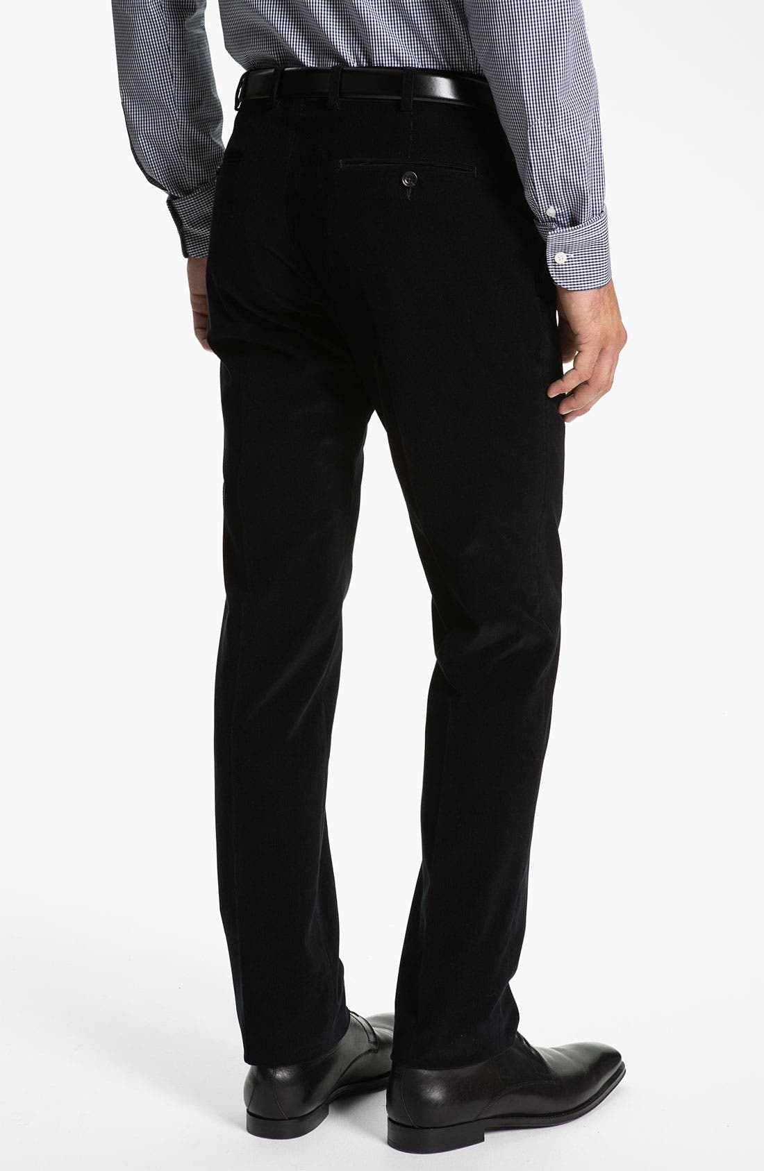 Alternate Image 5  - Z Zegna Extra Trim Fit Corduroy Suit