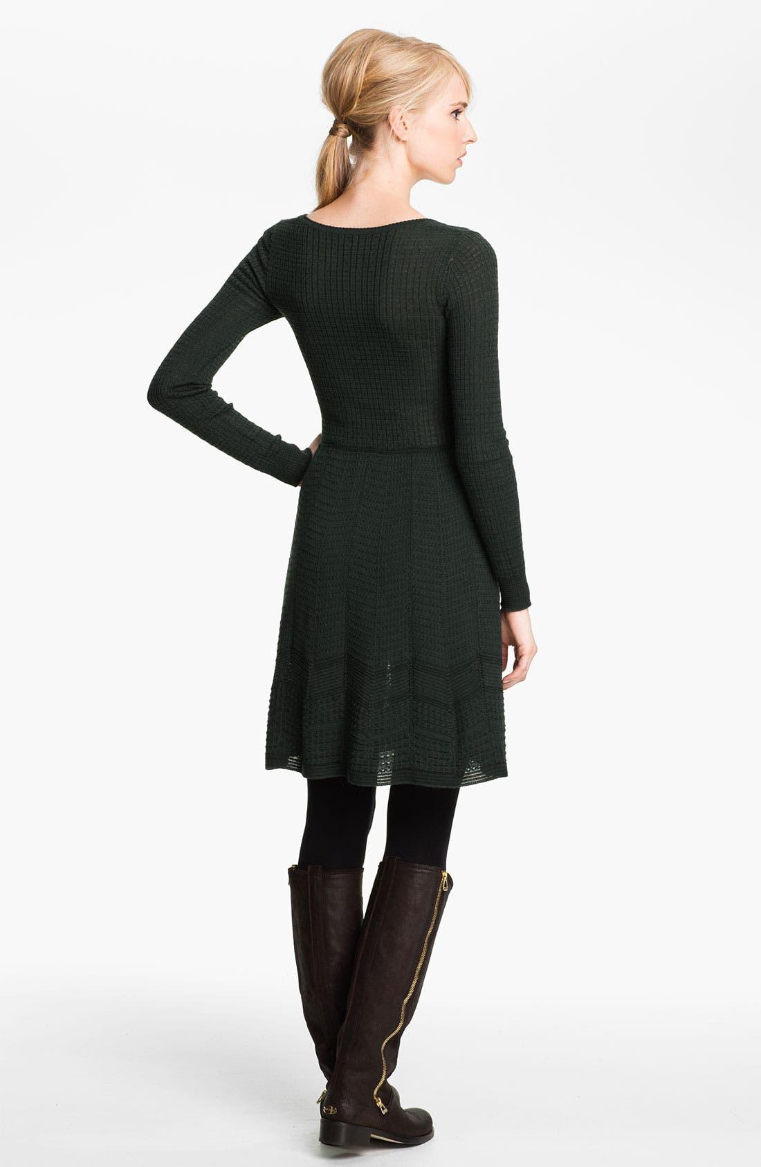 Alternate Image 2  - M Missoni Long Sleeve Knit Dress
