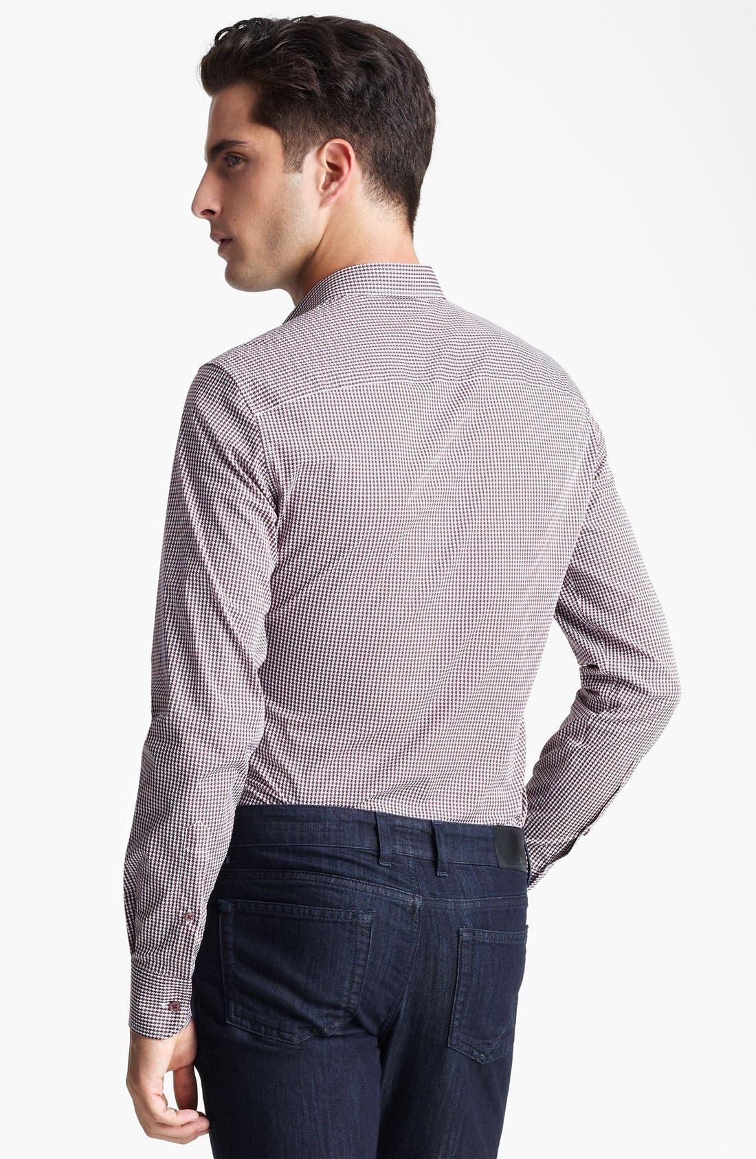 Alternate Image 2  - Z Zegna Slim Fit Sport Shirt