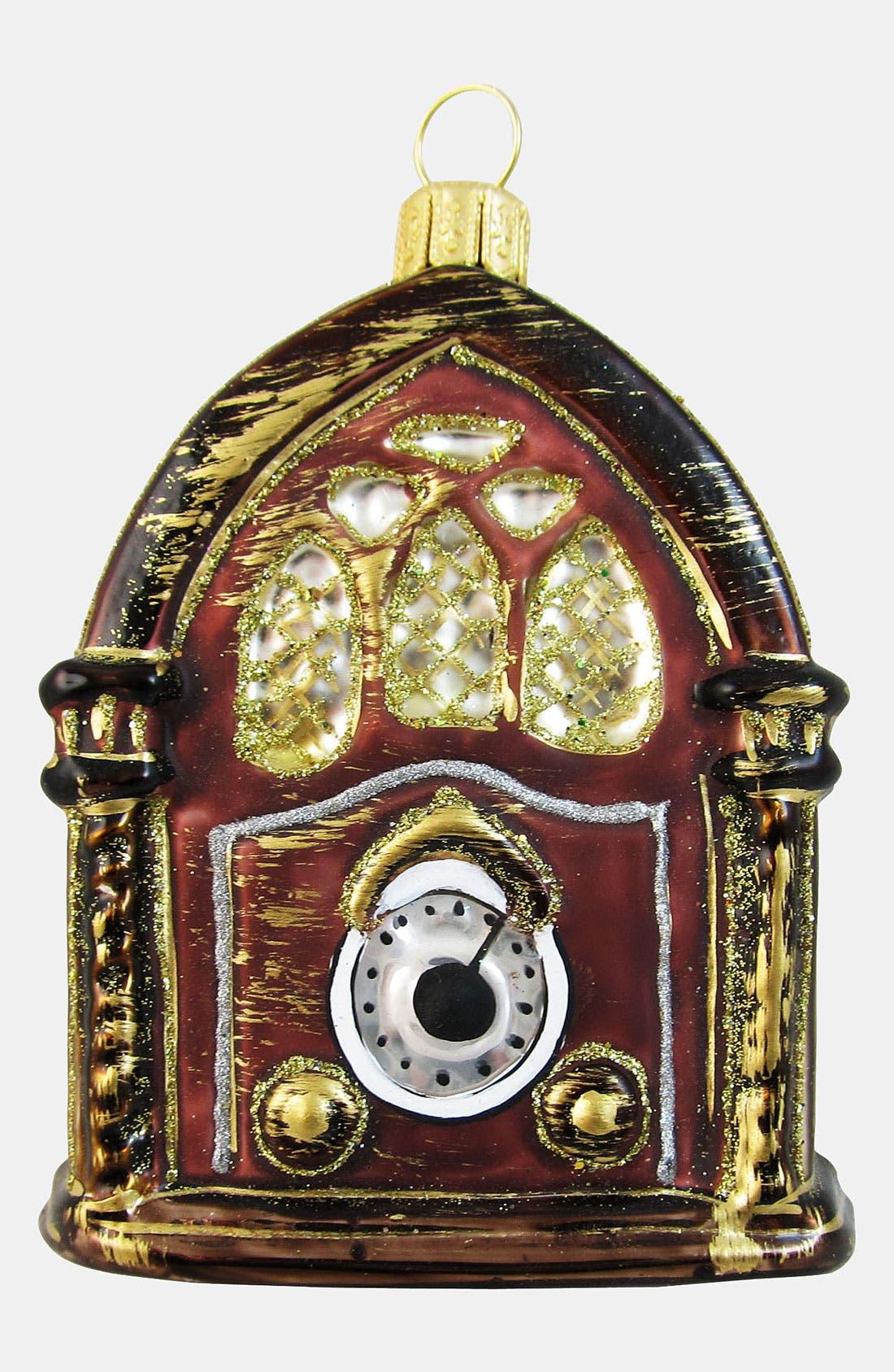 Alternate Image 1 Selected - Nordstrom at Home 'Vintage Radio' Ornament