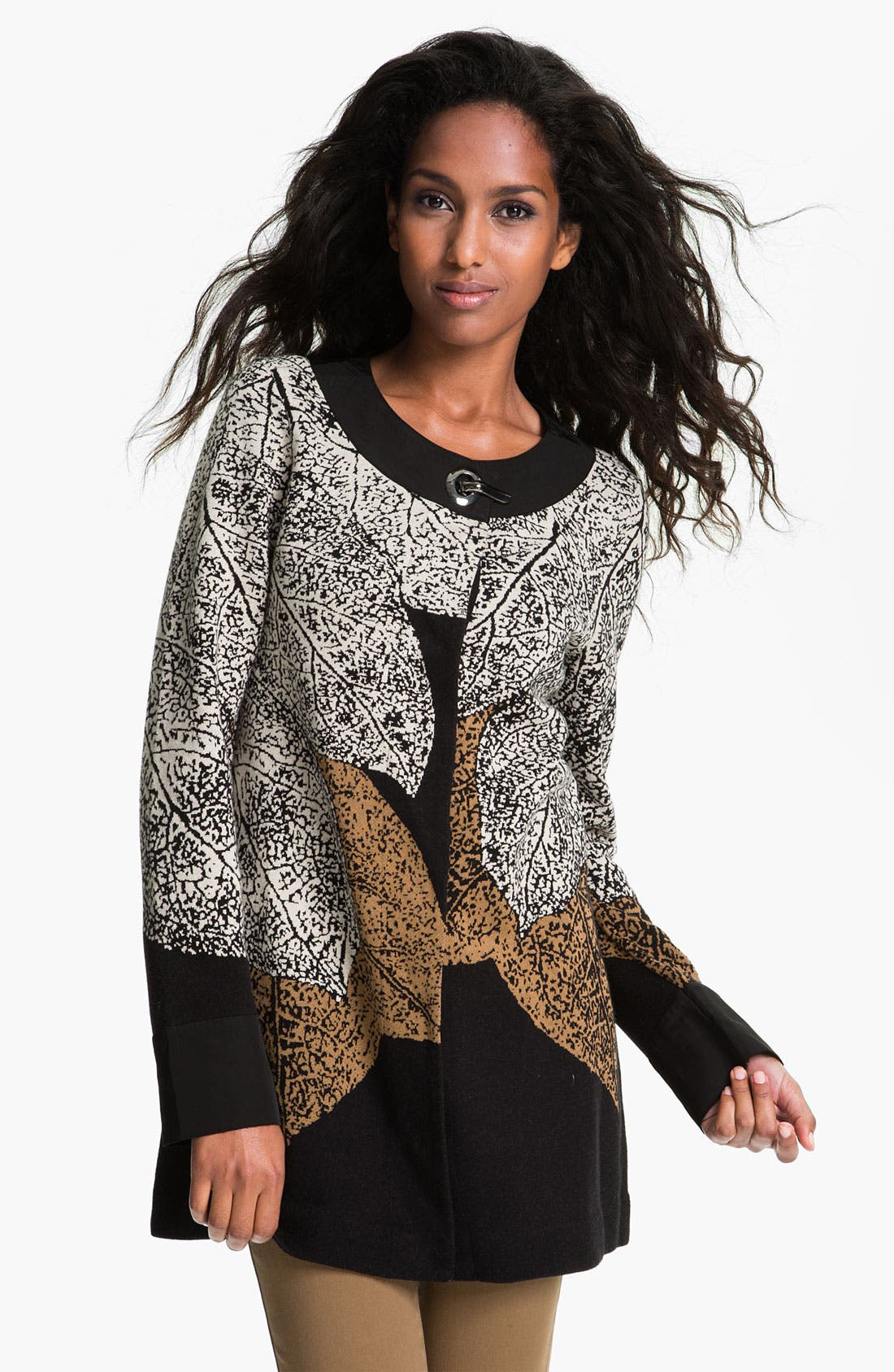 Main Image - Nic + Zoe 'Elegant Leaves' Cardigan