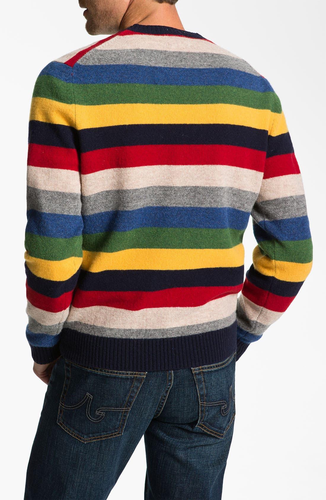 Alternate Image 2  - Brooks Brothers Wool Crewneck Sweater