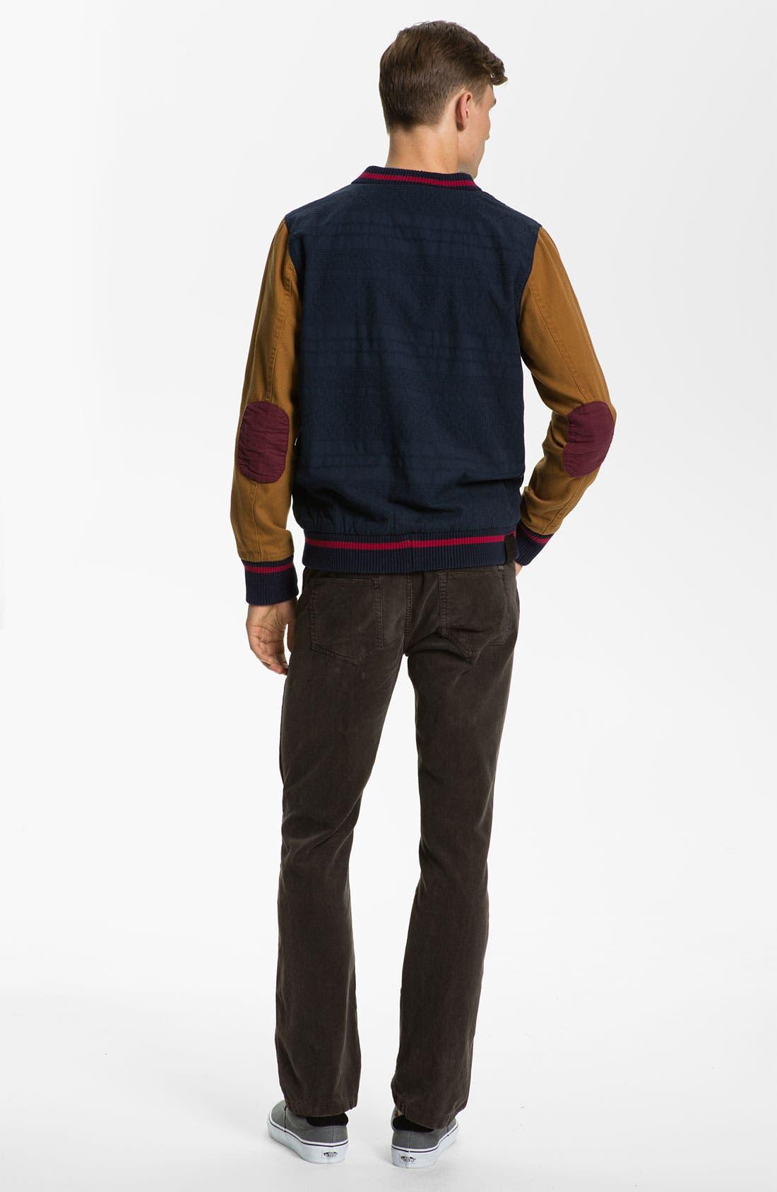 Alternate Image 4  - Just A Cheap Shirt 'Adam' Straight Leg Corduroy Pants