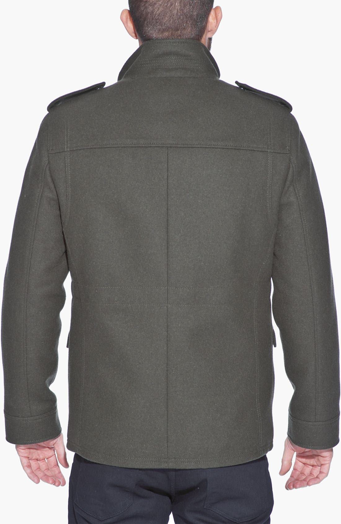 Alternate Image 2  - Andrew Marc 'Fraction' Wool Blend Jacket