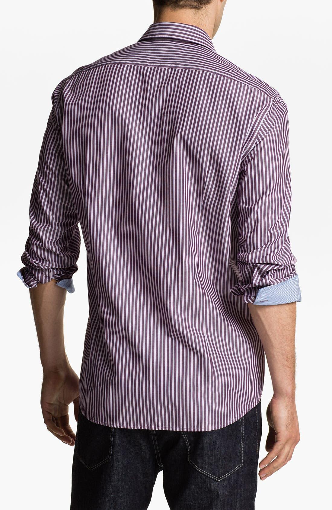 Alternate Image 2  - BOSS Black 'Obert' Regular Fit Sport Shirt