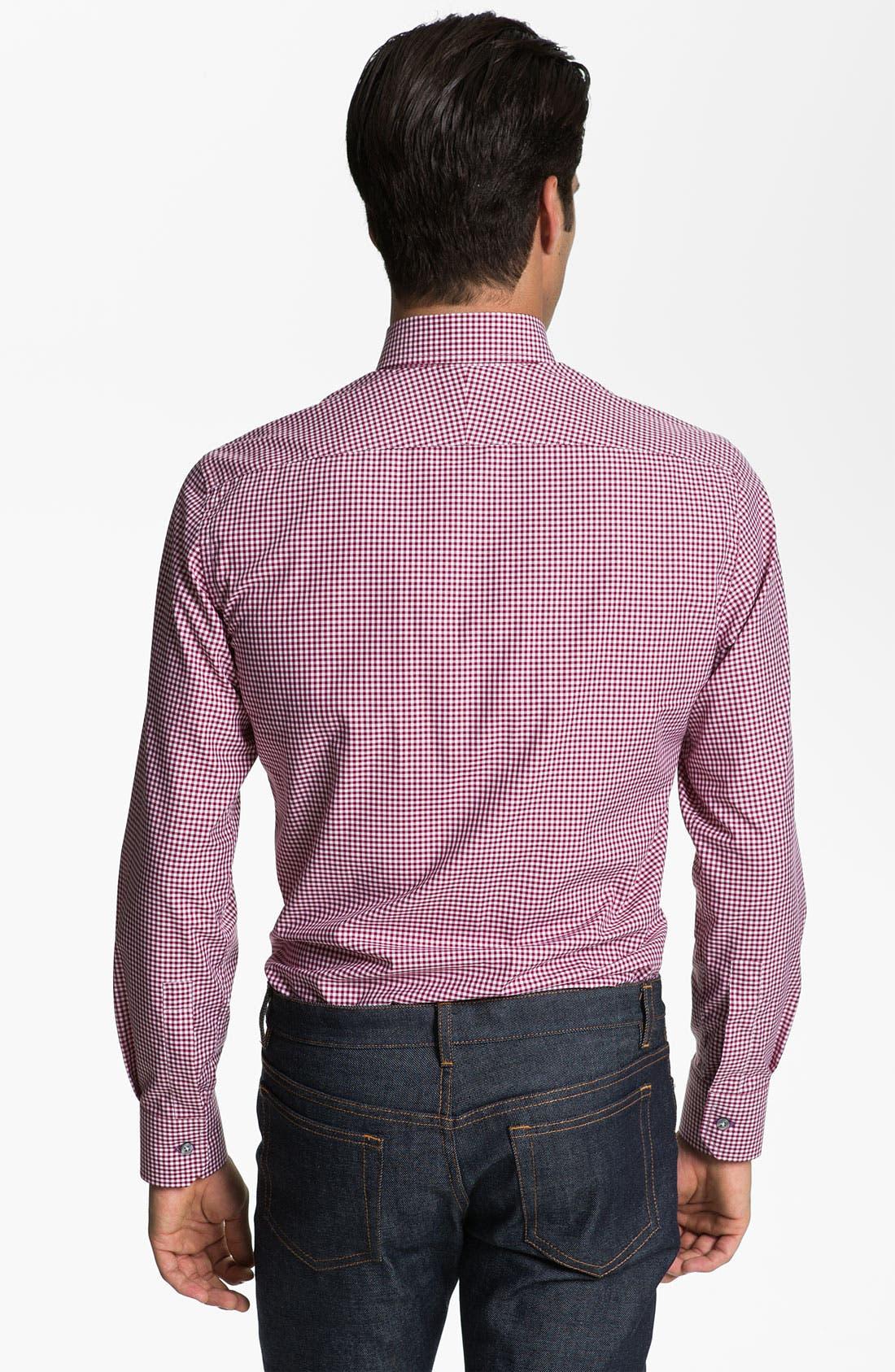 Alternate Image 2  - Paul Smith London Check Print Dress Shirt