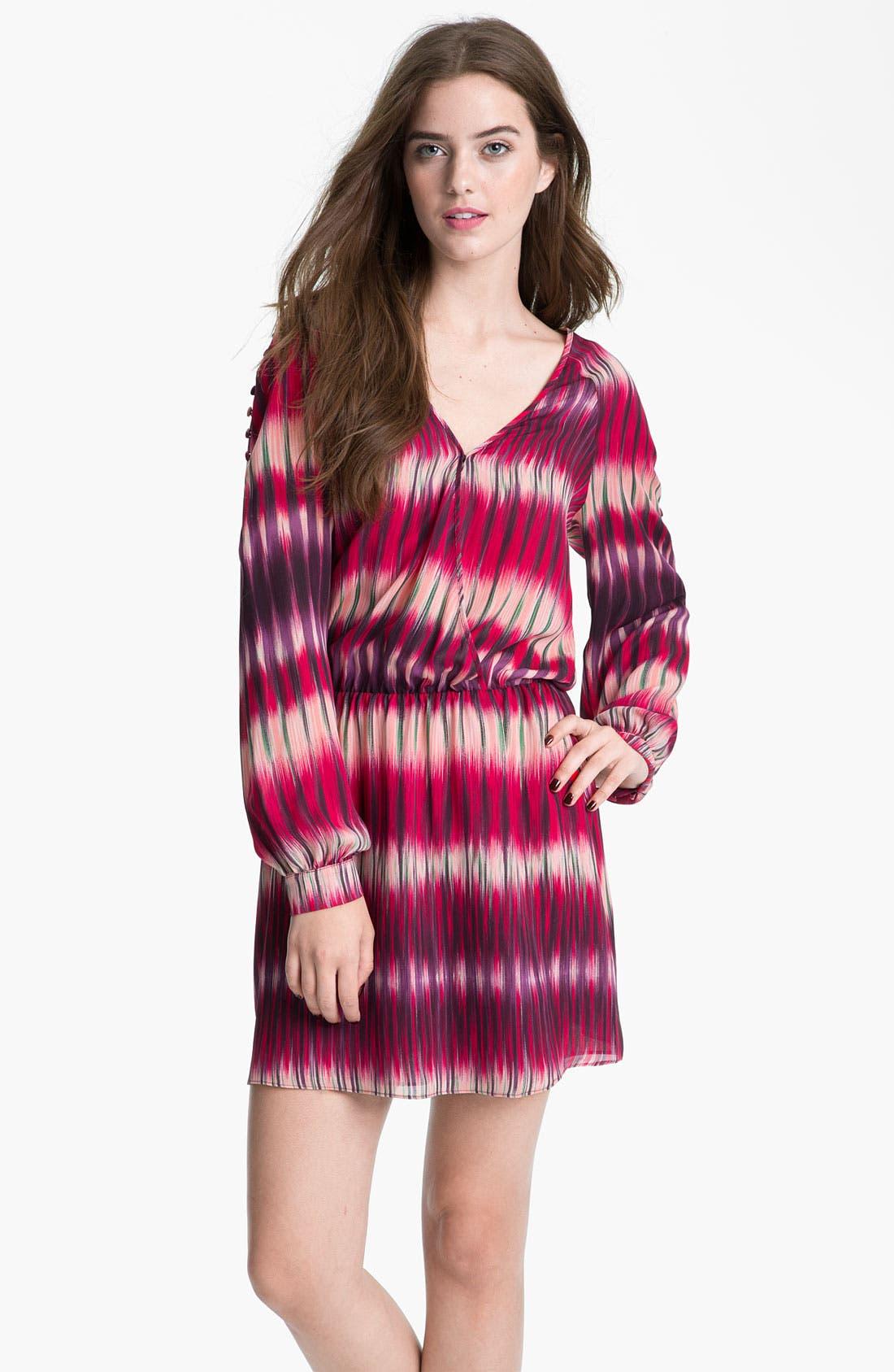 Alternate Image 1 Selected - Parker Faux Wrap Silk Georgette Dress