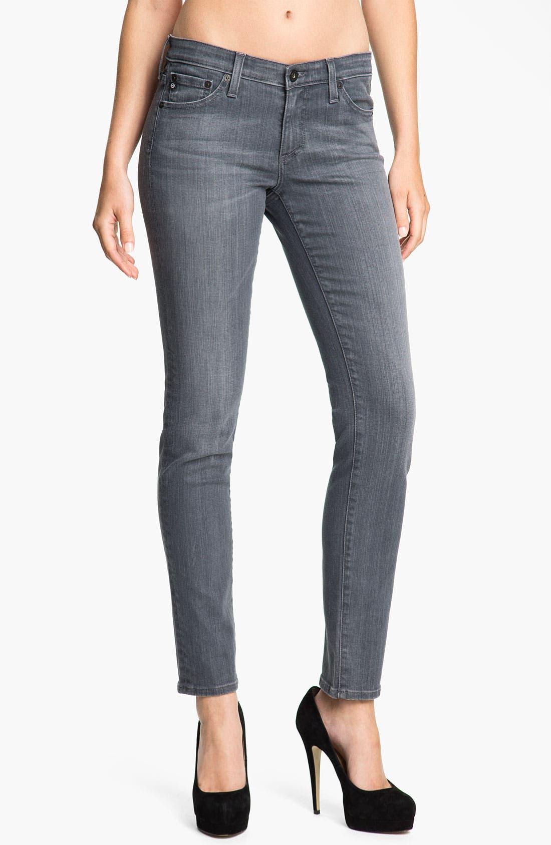 Alternate Image 1  - AG Jeans 'Stilt' Cigarette Leg Jeans (Studio Grey)