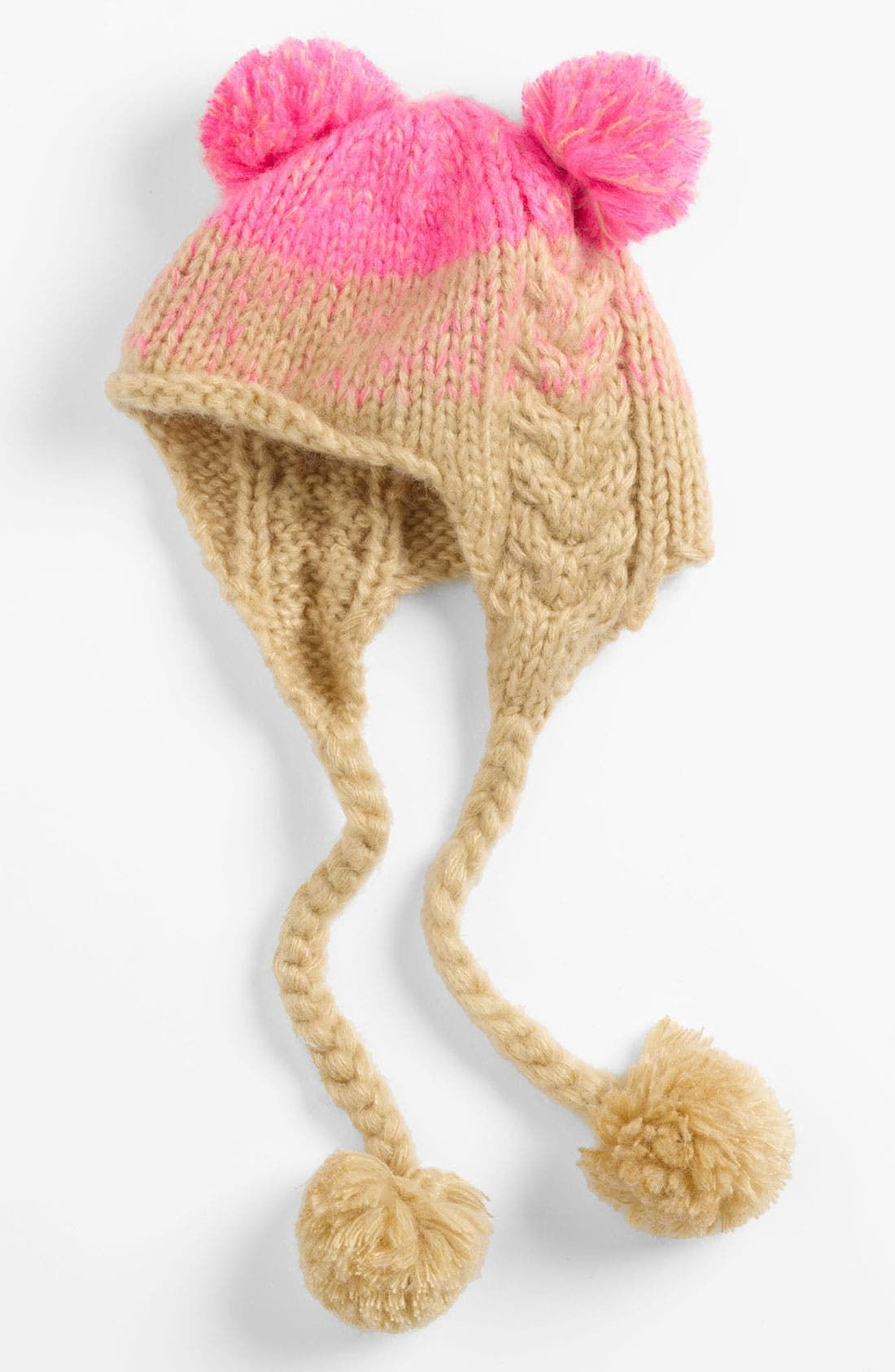 Main Image - Peace of Cake 'Pigtail' Hat (Girls)