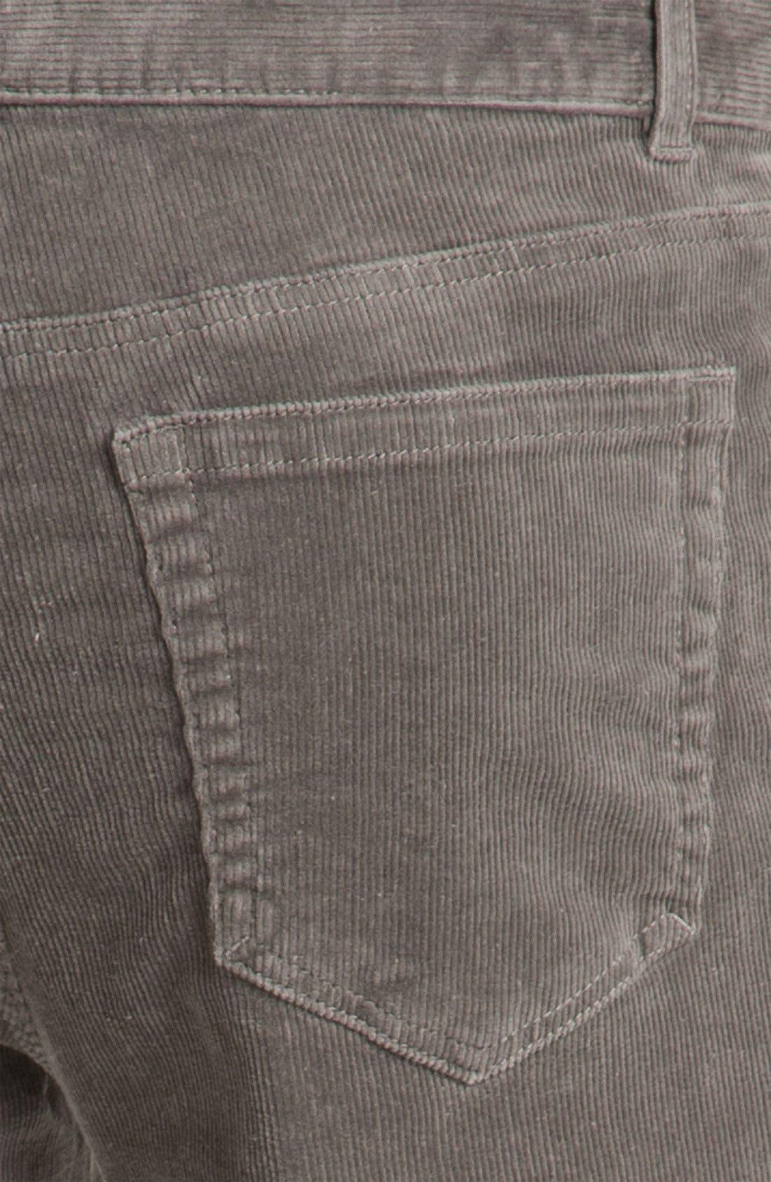 Alternate Image 3  - 1901 Straight Leg Corduroy Pants
