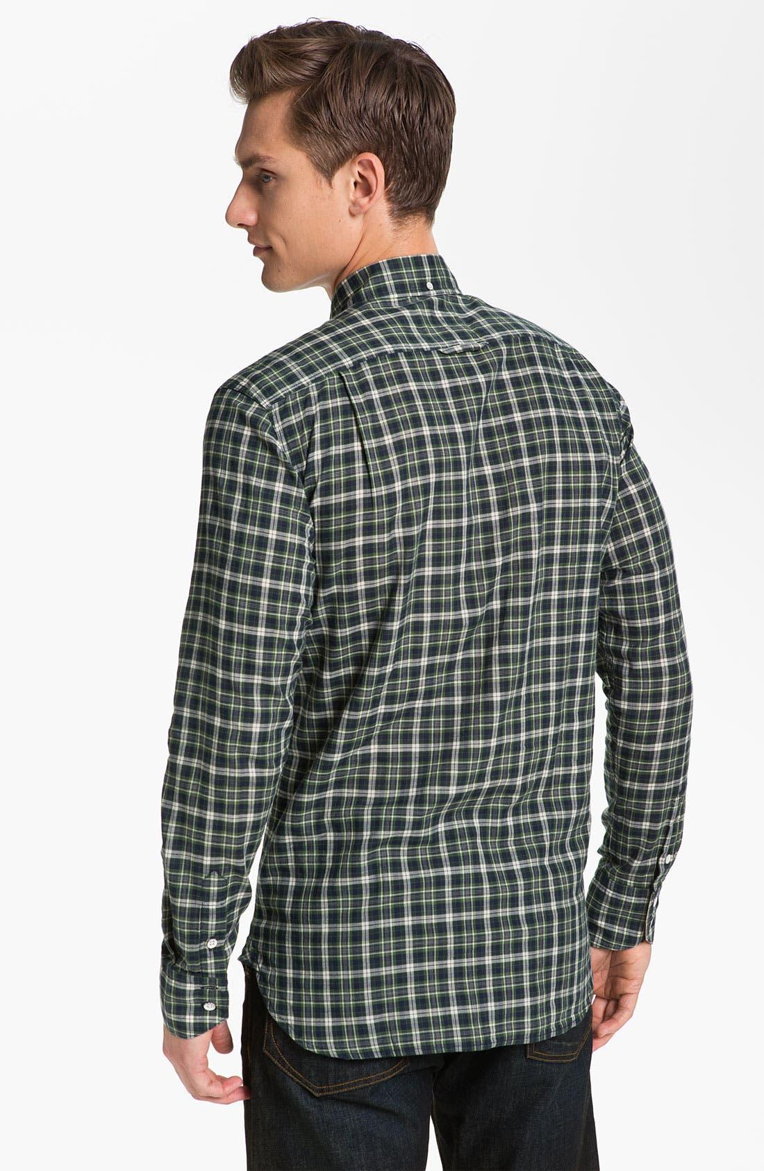 Alternate Image 2  - rag & bone Plaid Oxford Shirt