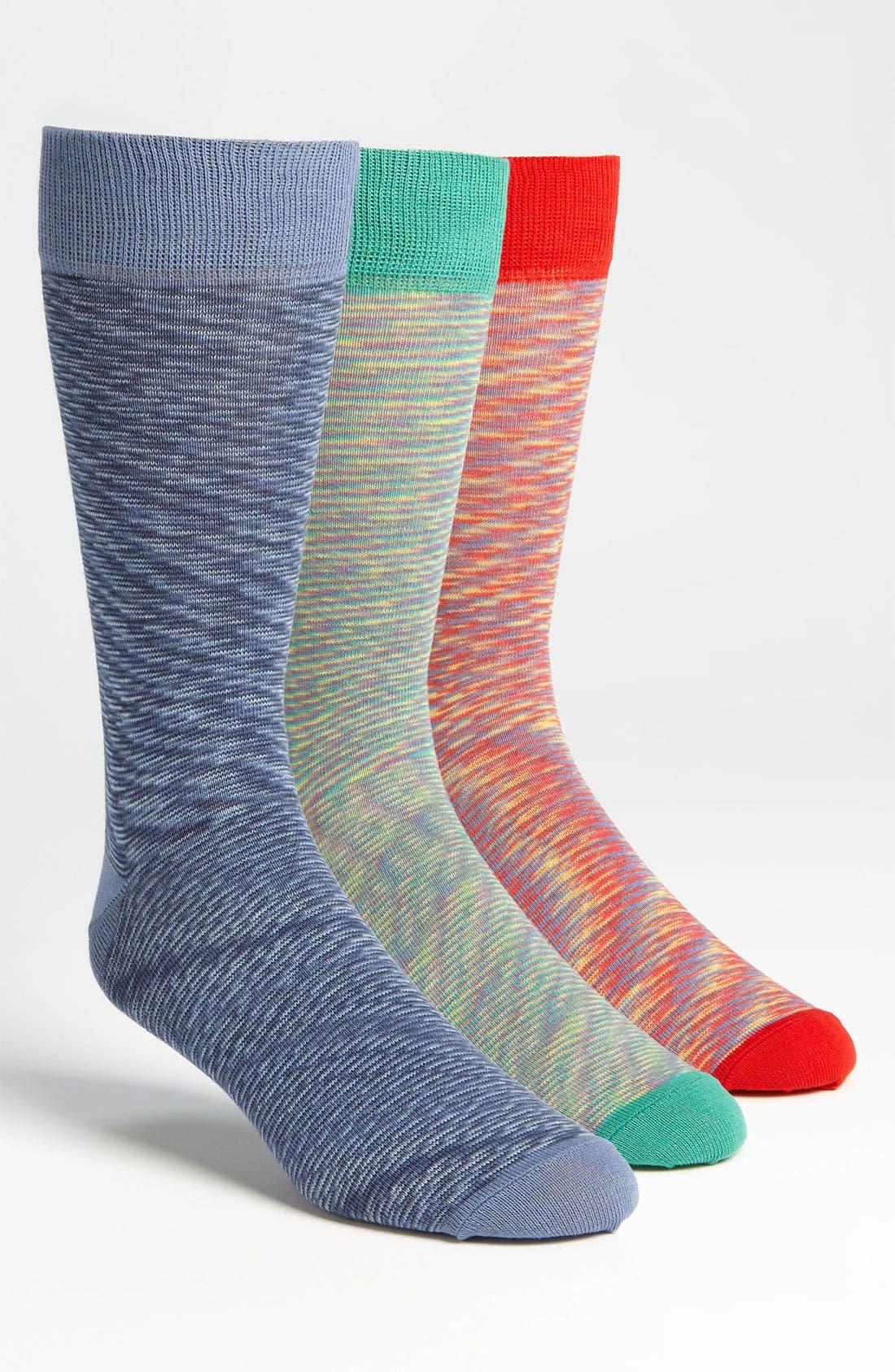 Alternate Image 1 Selected - Topman 'Summer Space' Socks (3-Pack)