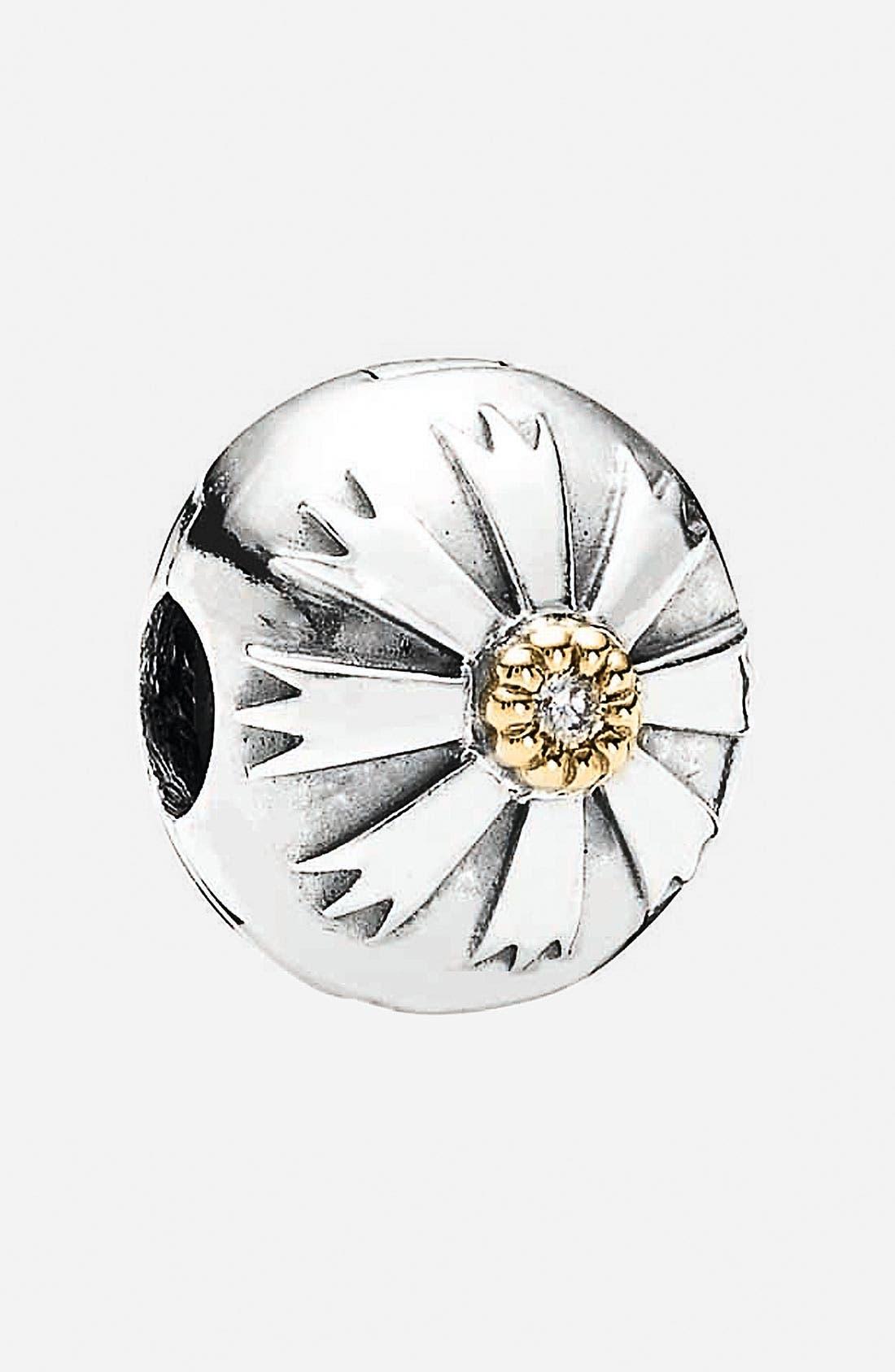 Alternate Image 1 Selected - PANDORA 'Friendship Flower' Clip Charm
