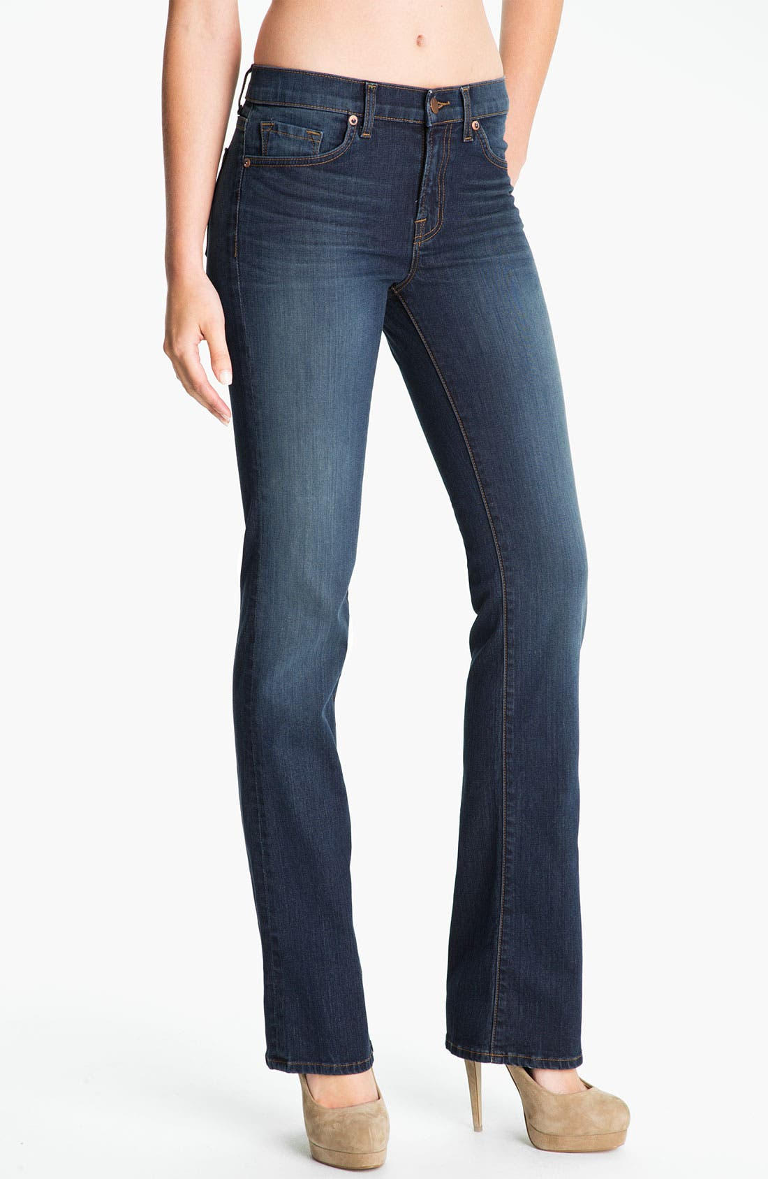 Alternate Image 1 Selected - J Brand Slim Bootcut Stretch Jeans (Classic Wash)