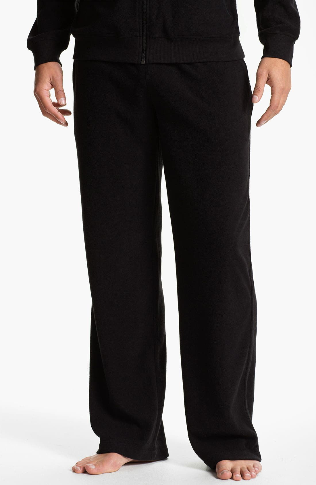 Alternate Image 1 Selected - Daniel Buchler Lightweight Fleece Lounge Pants