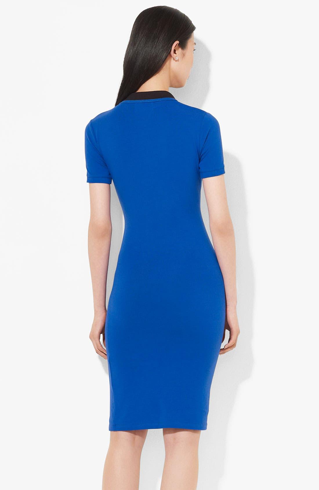 Alternate Image 2  - Lauren Ralph Lauren Polo Dress