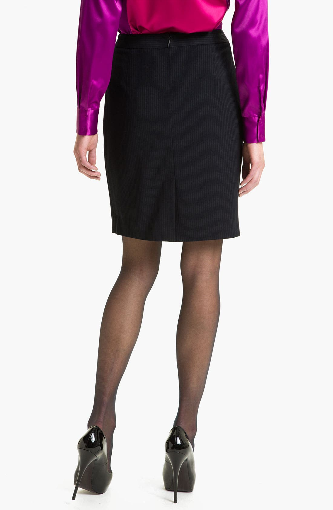 Alternate Image 2  - T Tahari 'Demsy' Skirt (Petite)