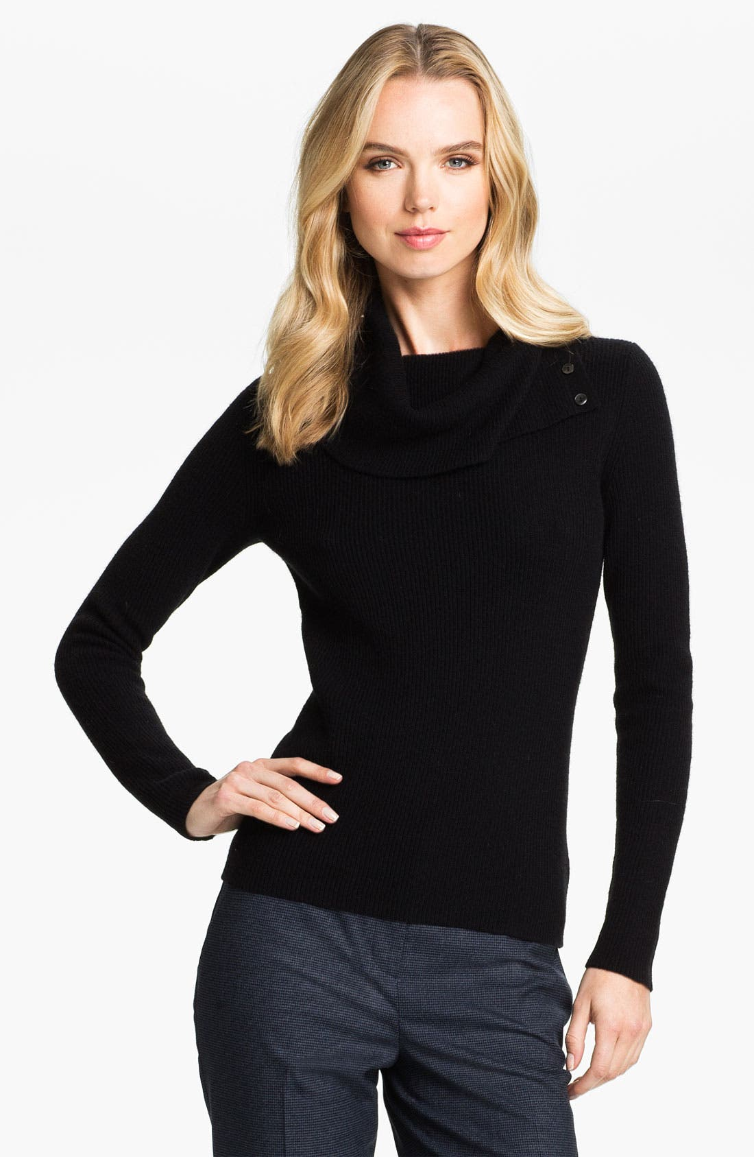 Alternate Image 1 Selected - Classiques Entier® 'Coccinelle' Sweater