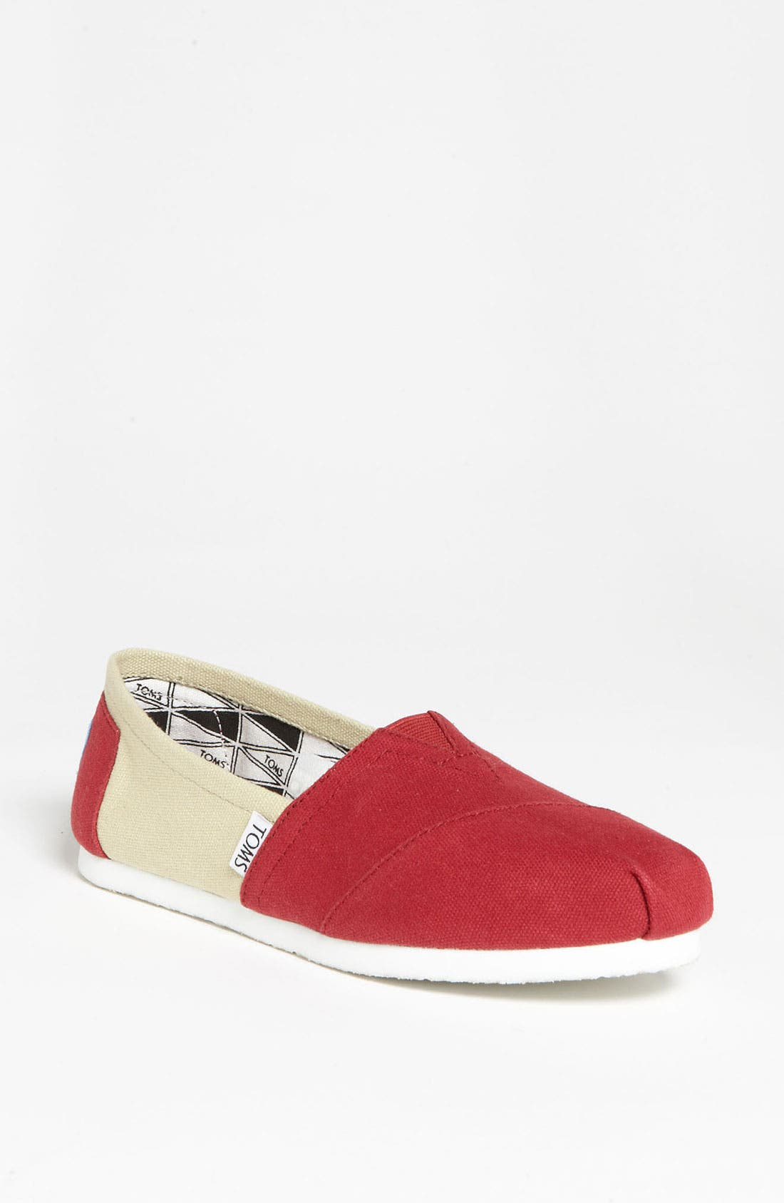Alternate Image 1 Selected - TOMS 'Campus Classics - Florida State' Slip-On (Women)