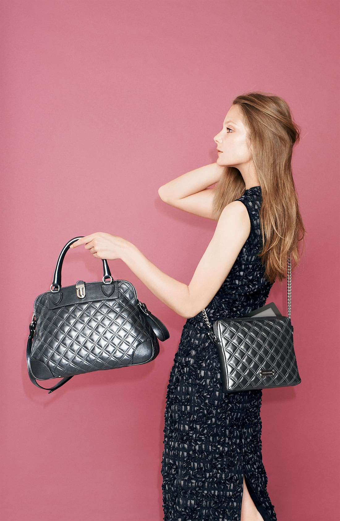 Alternate Image 5  - MARC JACOBS 'Quilting Whitney' Leather Satchel