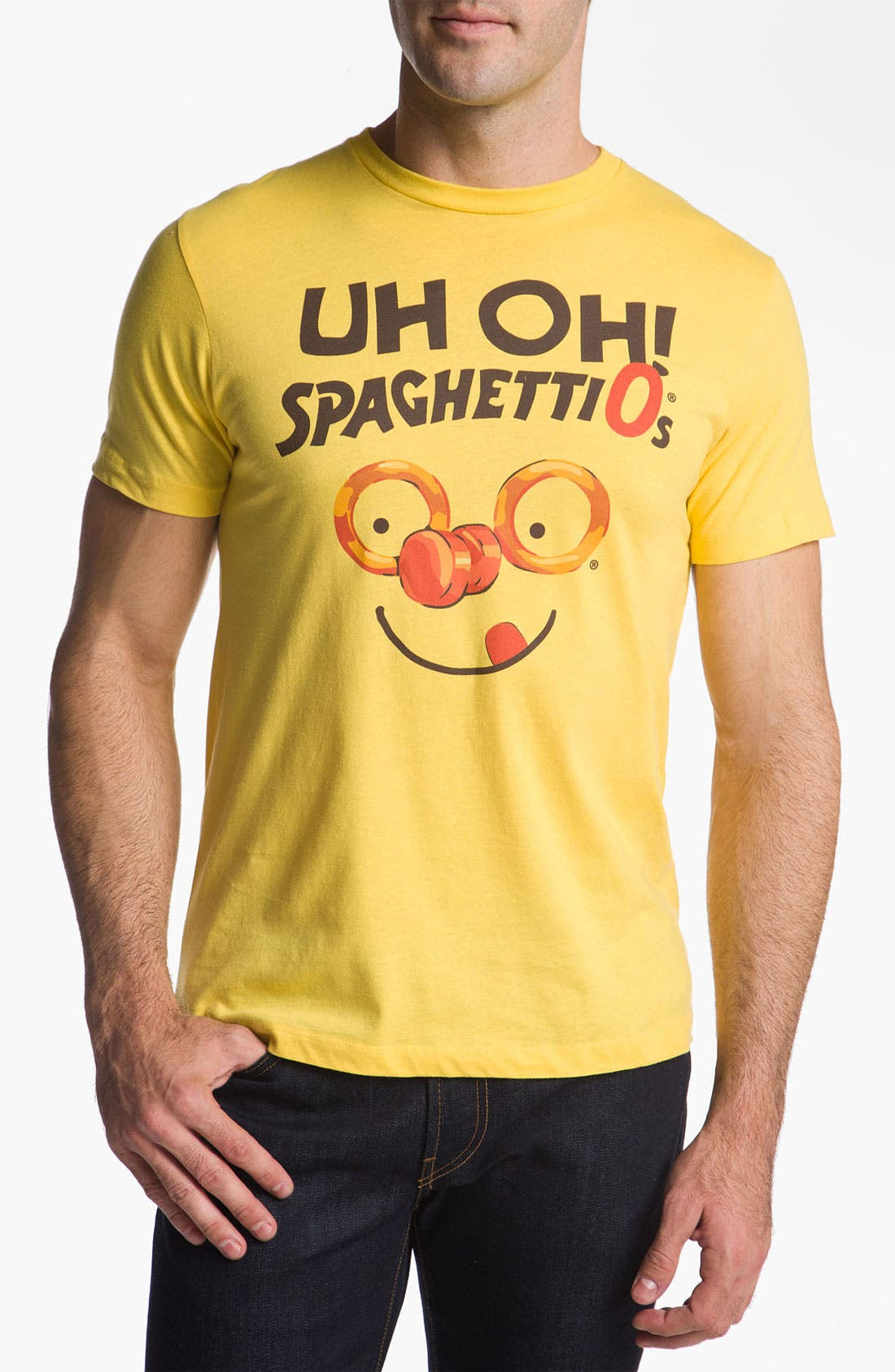 Alternate Image 1 Selected - Topless 'Uh Oh! Spaghetti-Os' T-Shirt