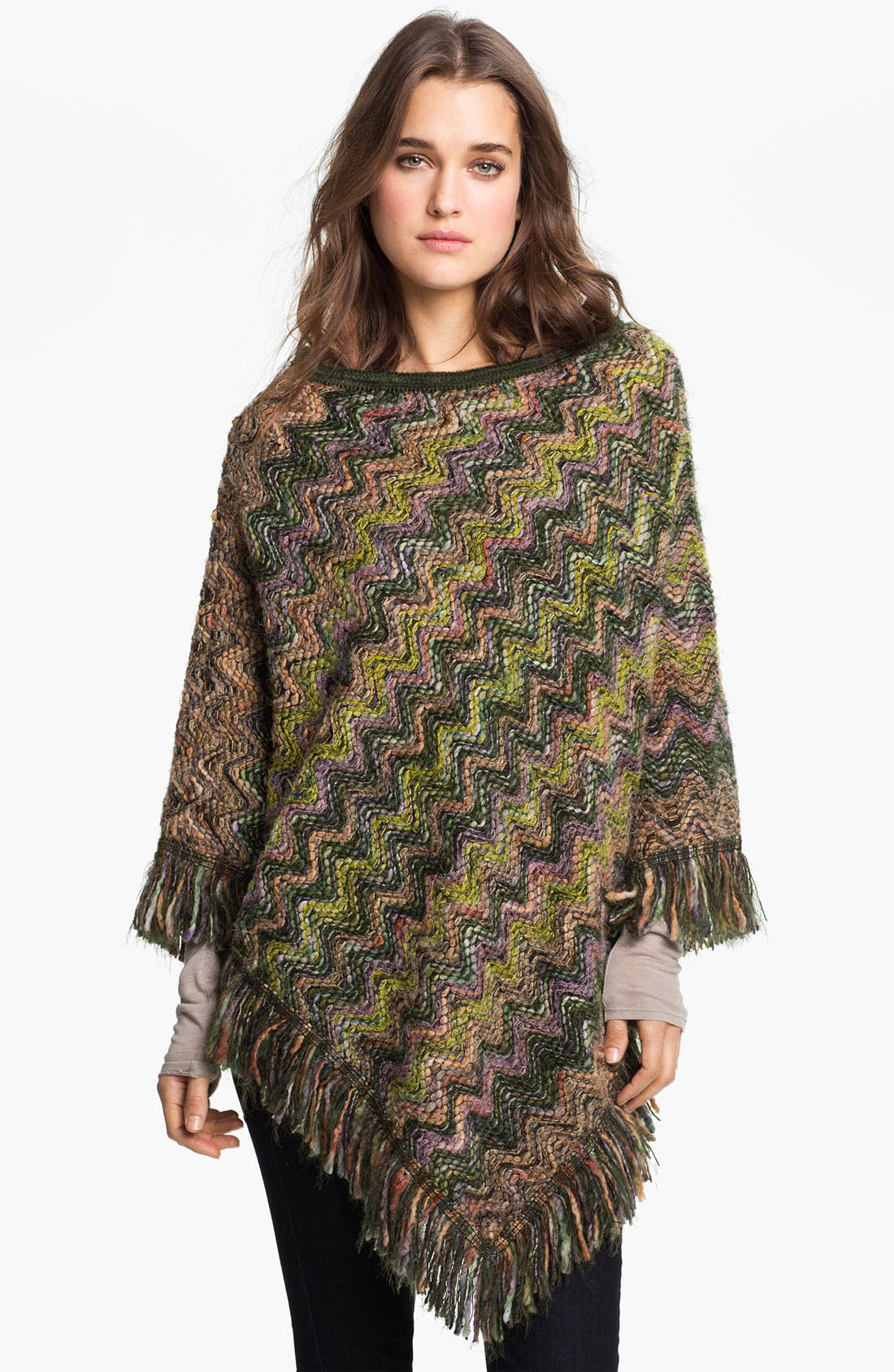 Alternate Image 1 Selected - Missoni 'Chunky' Wool Blend Poncho