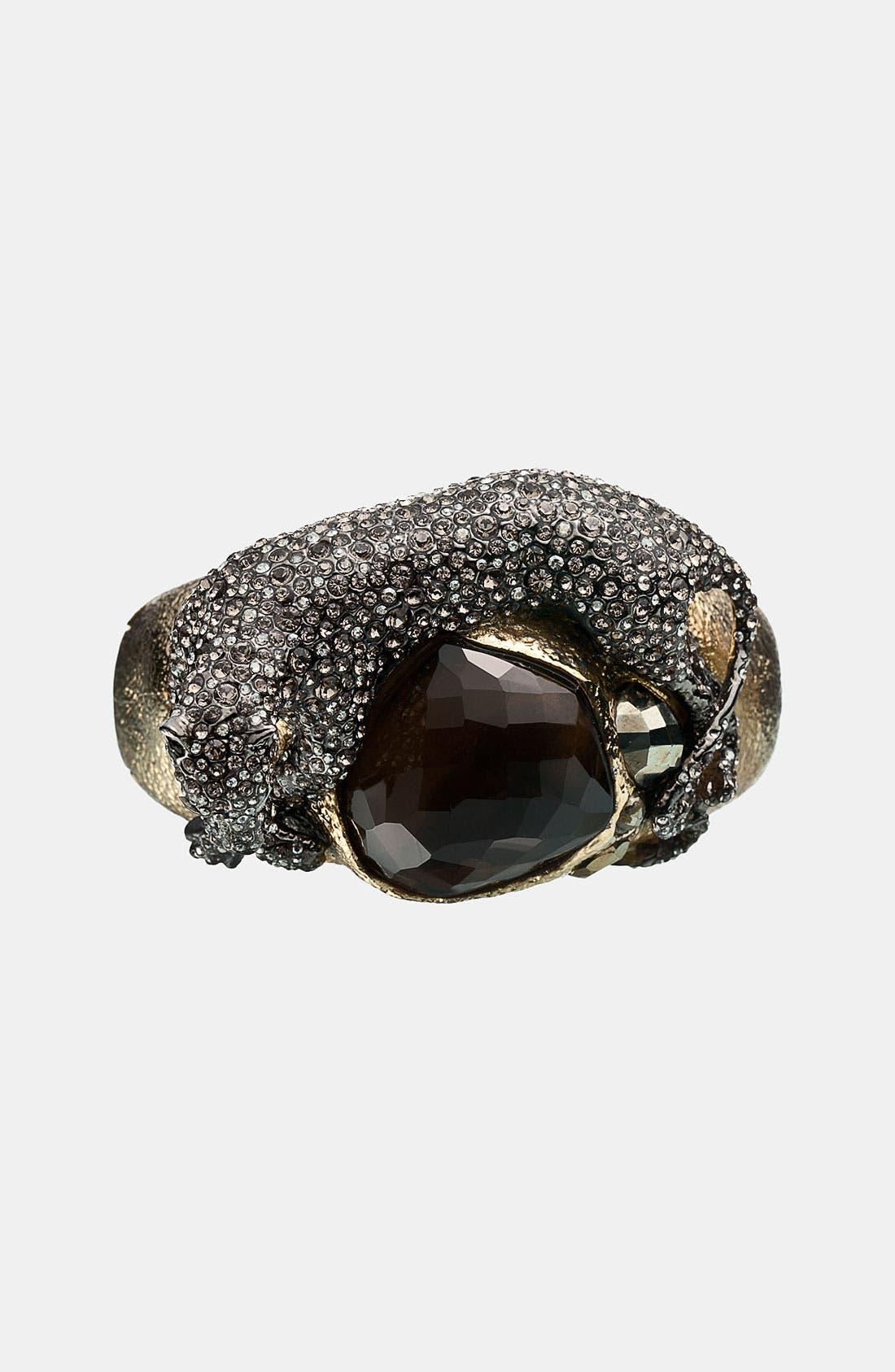 Alternate Image 2  - Alexis Bittar 'Elements - Siyabona' Large Panther Hinged Bracelet