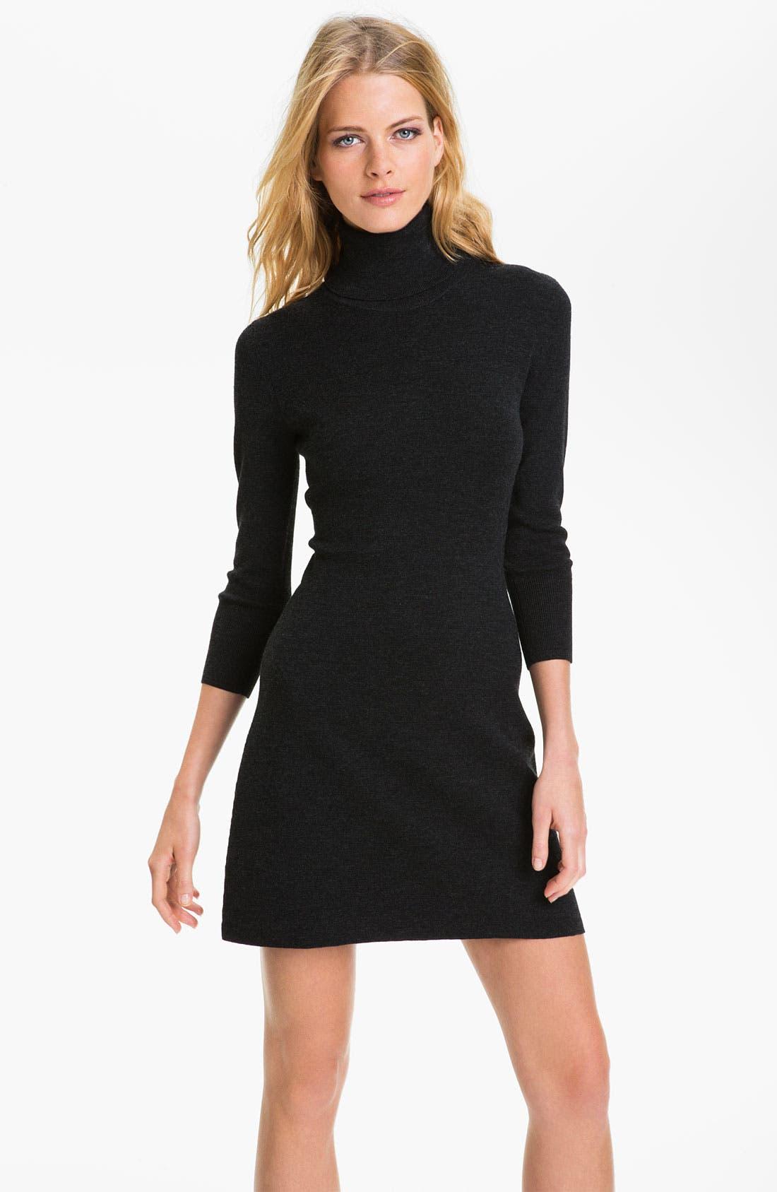 Main Image - Theory 'Vemara' Shift Sweater Dress (Online Exclusive)