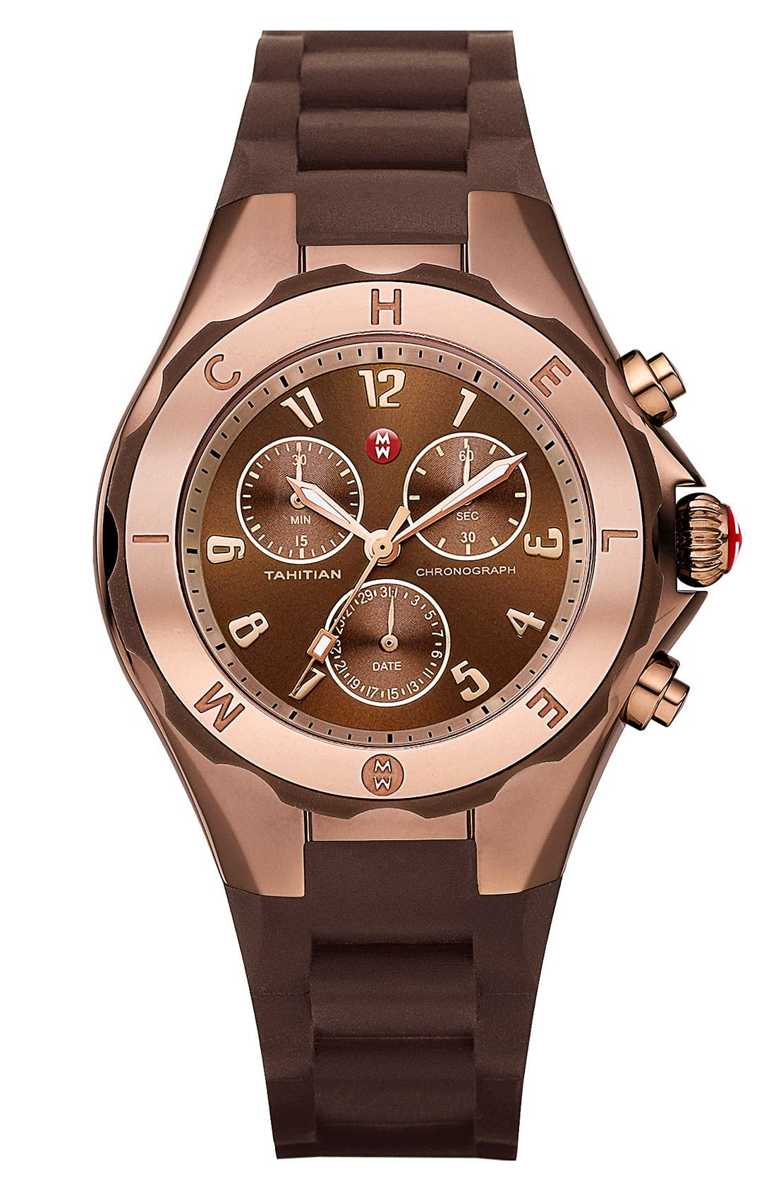Main Image - MICHELE 'Tahitian Jelly Bean' Watch, 40mm