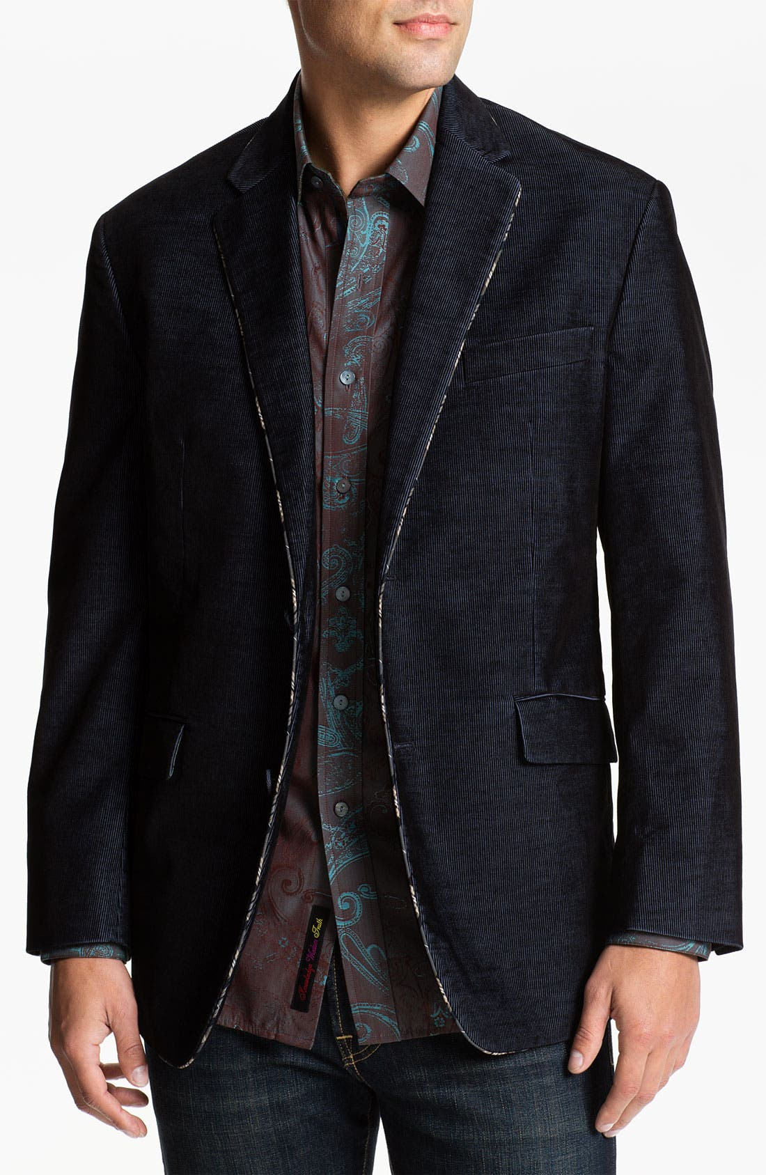 Alternate Image 1 Selected - Robert Graham 'Lintel' Corduroy Sportcoat