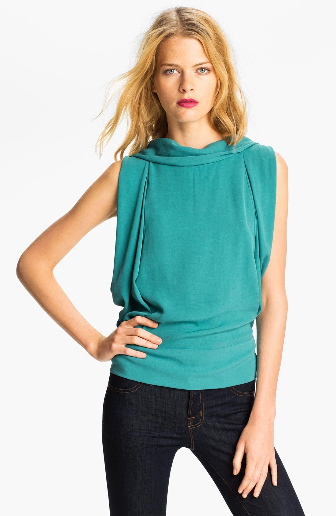 Alternate Image 1 Selected - Diane von Furstenberg 'Karela' Silk Blouse