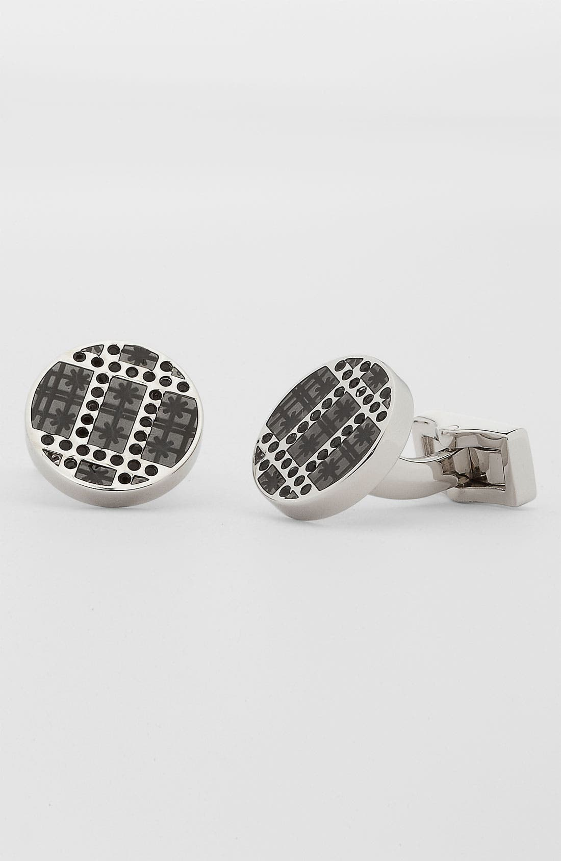 Main Image - Canali Swarovski Crystal Cuff Links