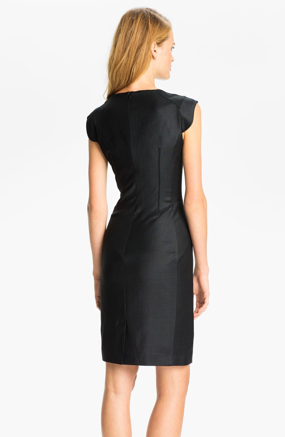 Alternate Image 2  - Ted Baker London Woven Sheath Dress