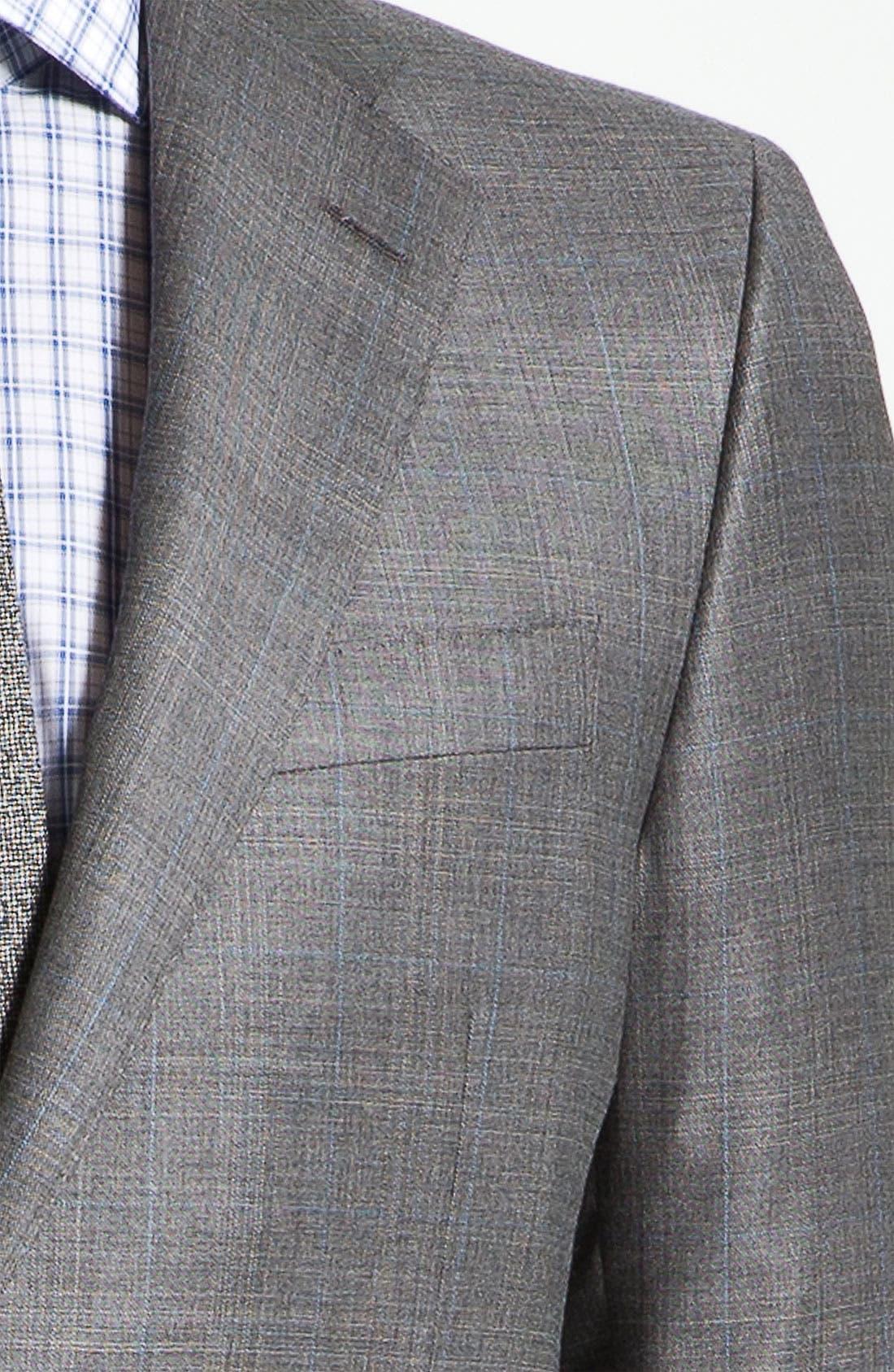 Alternate Image 6  - Hickey Freeman 'B Series' Wool Suit