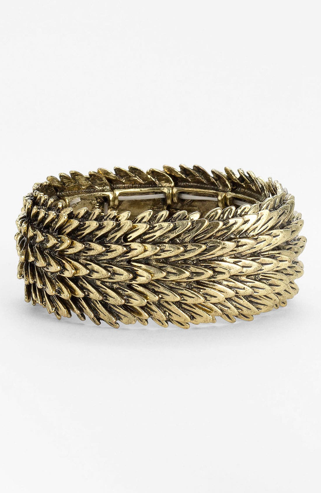 Main Image - Cara 'Feather' Stretch Bracelet