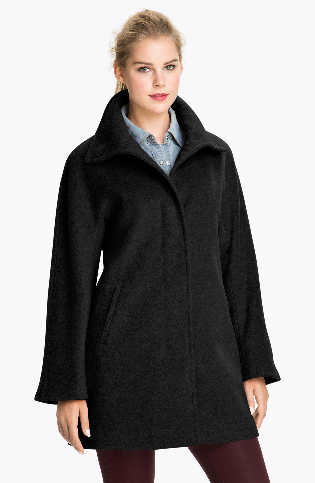 Main Image - Ellen Tracy Convertible Collar Topper (Nordstrom Exclusive)
