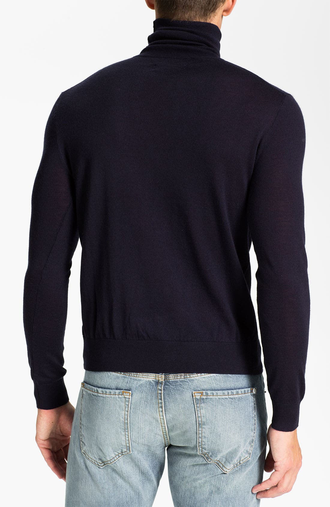 Alternate Image 2  - Polo Ralph Lauren Classic Fit Merino Wool Turtleneck Sweater