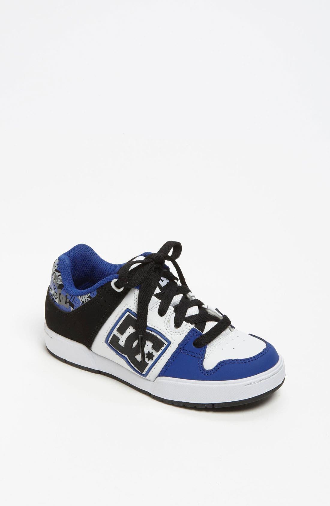 Alternate Image 1 Selected - DC Shoes 'Turbo 2' Sneaker (Little Kid & Big Kid)