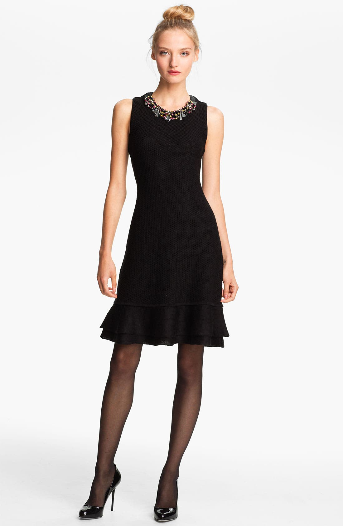 Main Image - Mcginn Sweater Dress with Detachable Necklace