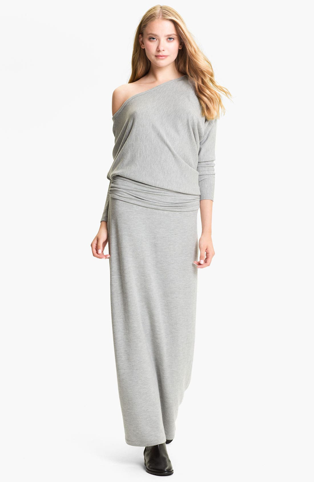 Main Image - Tart 'Yvonne' Off the Shoulder Sweater Maxi Dress