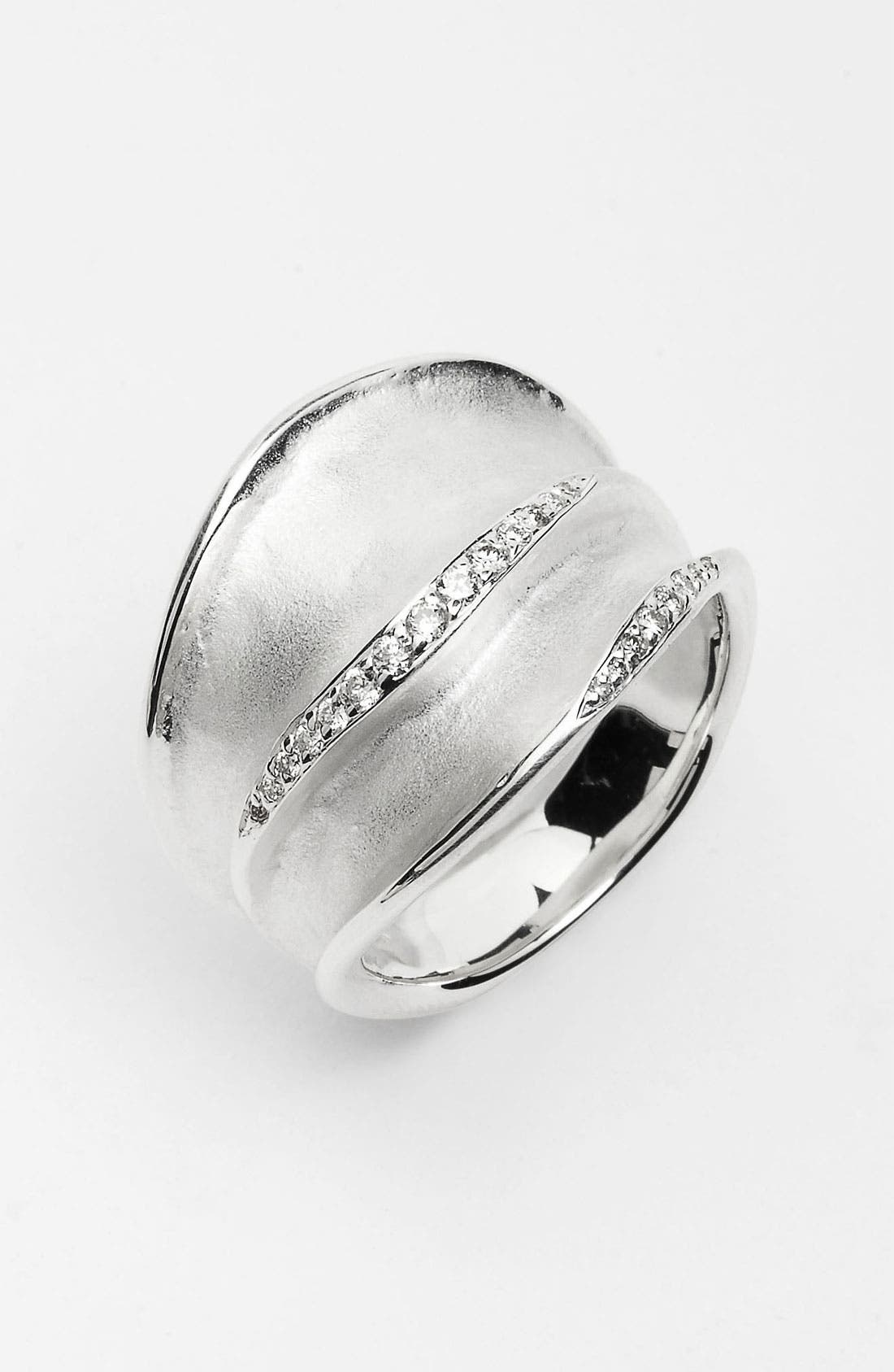 Alternate Image 1 Selected - Ippolita 'Venezia Links' Diamond Accent Ring