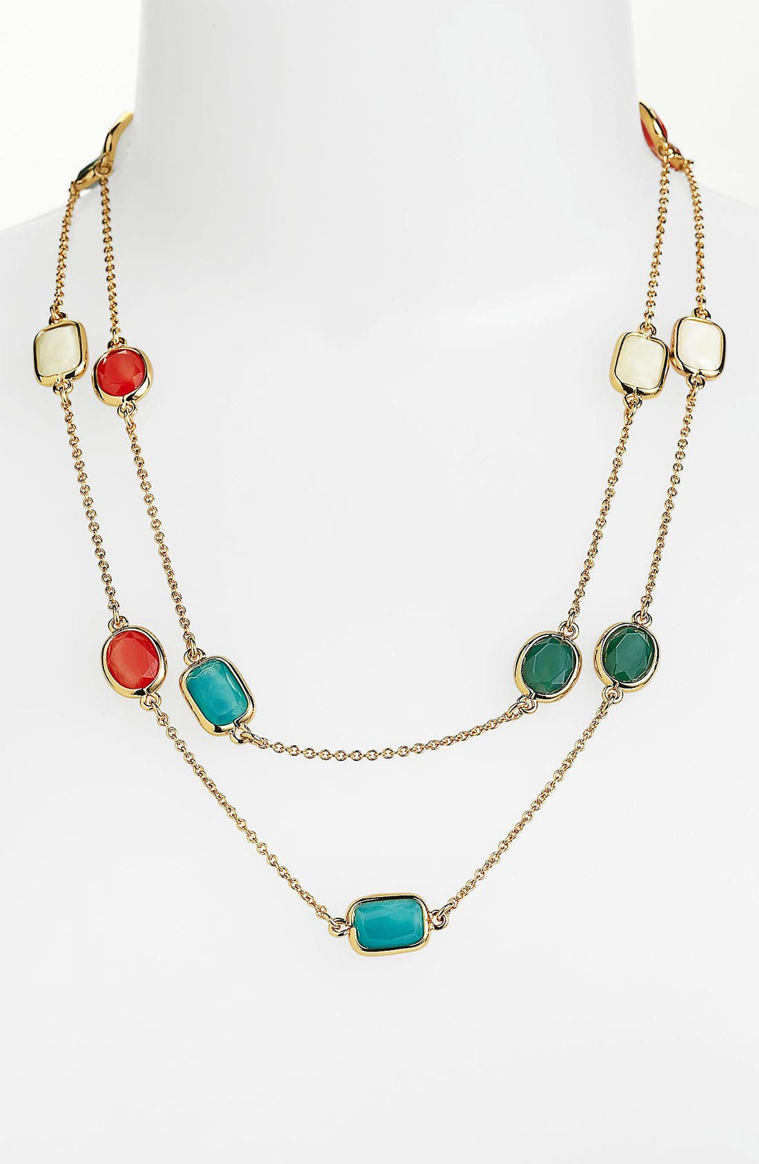 Main Image - kate spade new york 'dazzle drop' long station necklace
